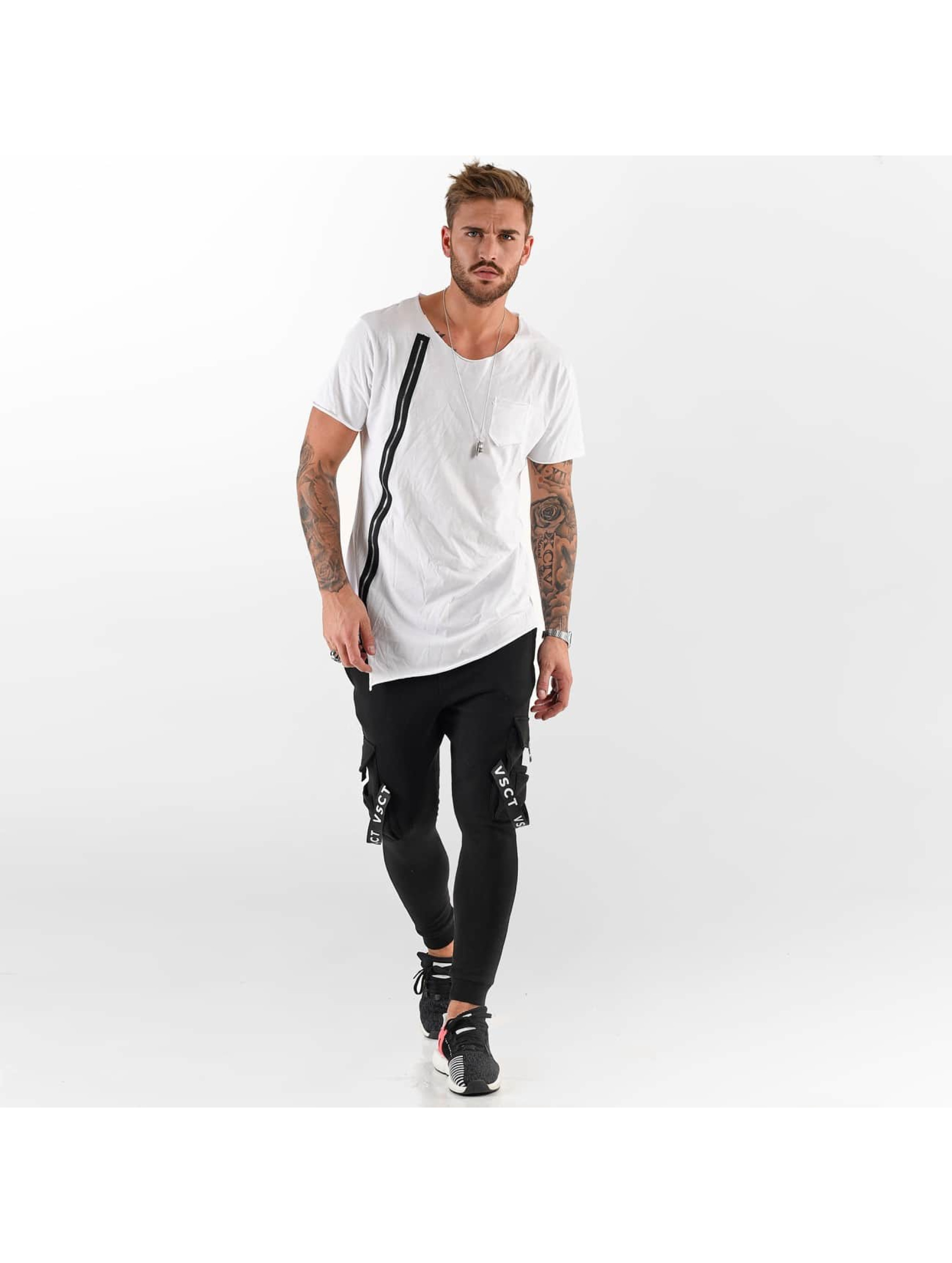 VSCT Clubwear Tričká Laser Cut biela