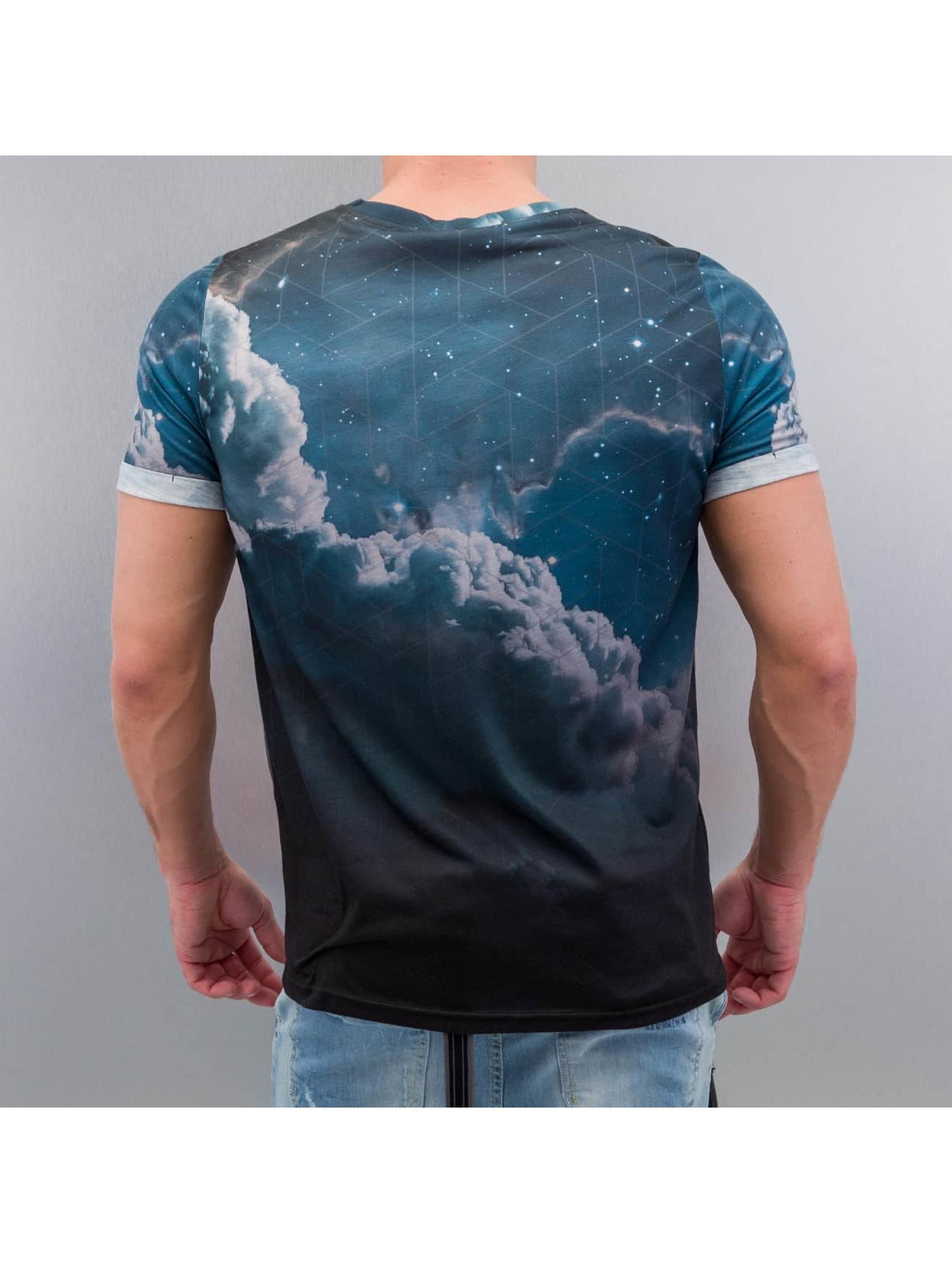 VSCT Clubwear Tričká Dark Clouds modrá