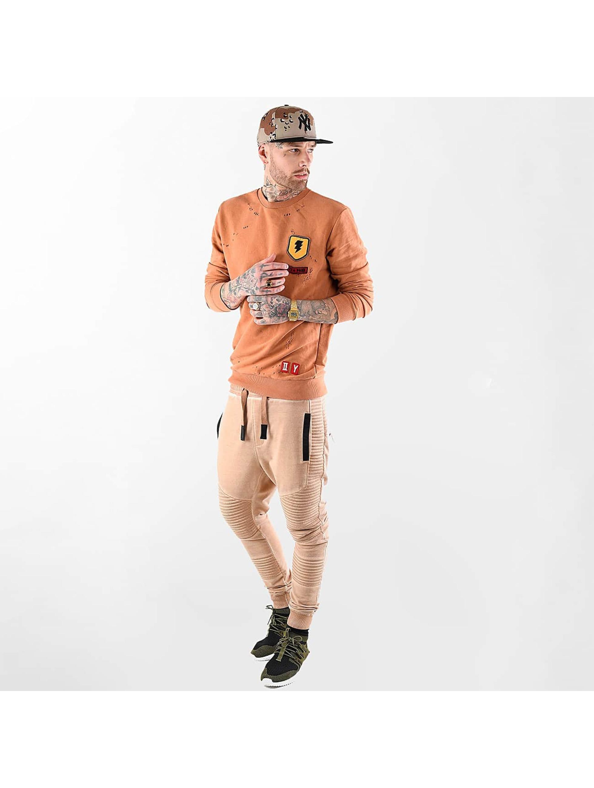 VSCT Clubwear trui Customized Patch Crew oranje