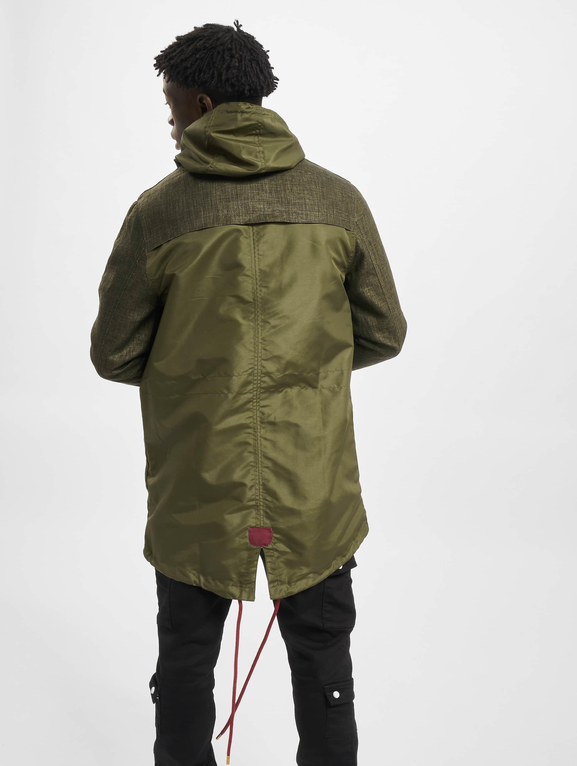 VSCT Clubwear Übergangsjacke Contrast Rain olive