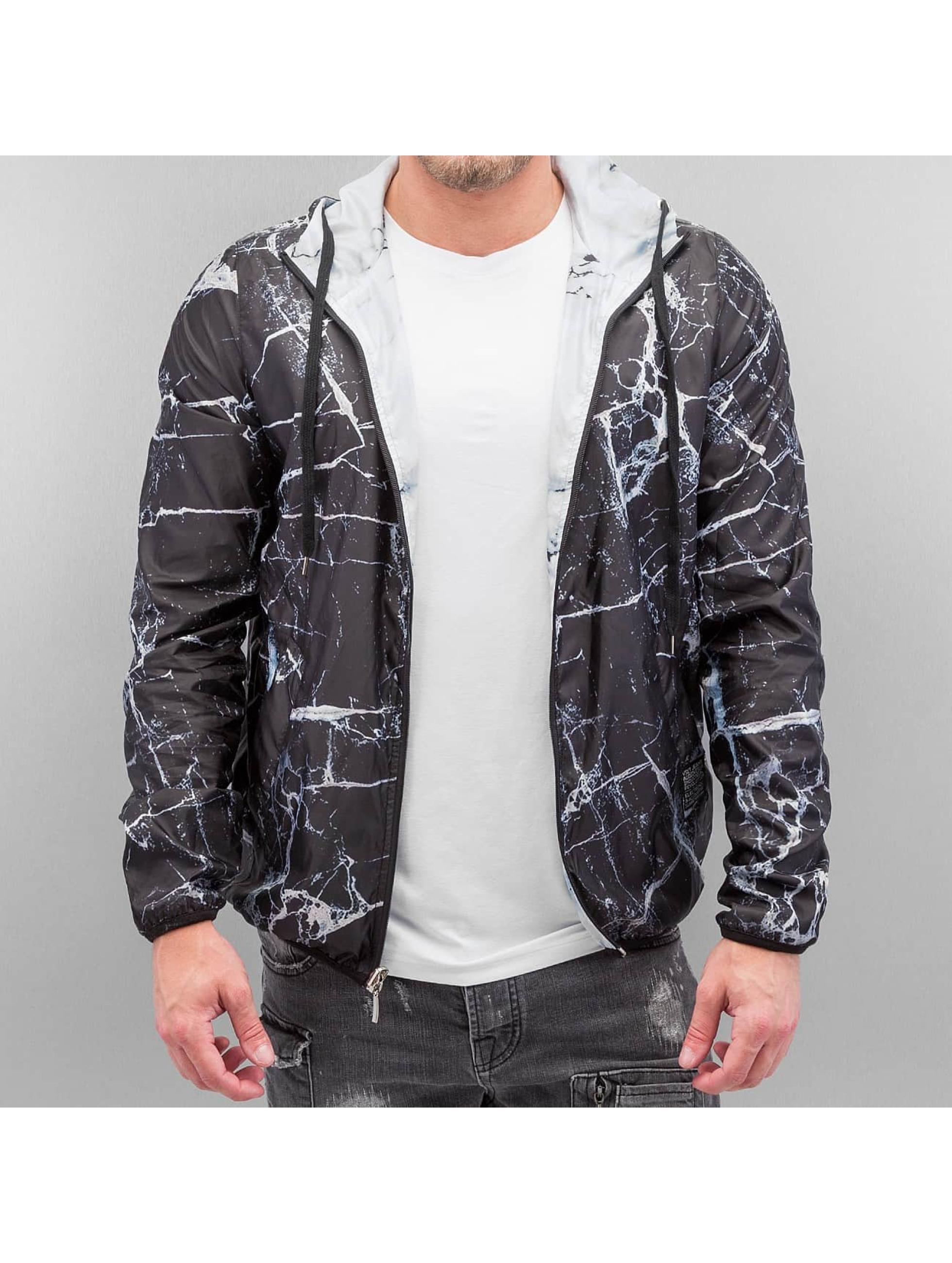 VSCT Clubwear Übergangsjacke Marble 2in1 Reversible schwarz