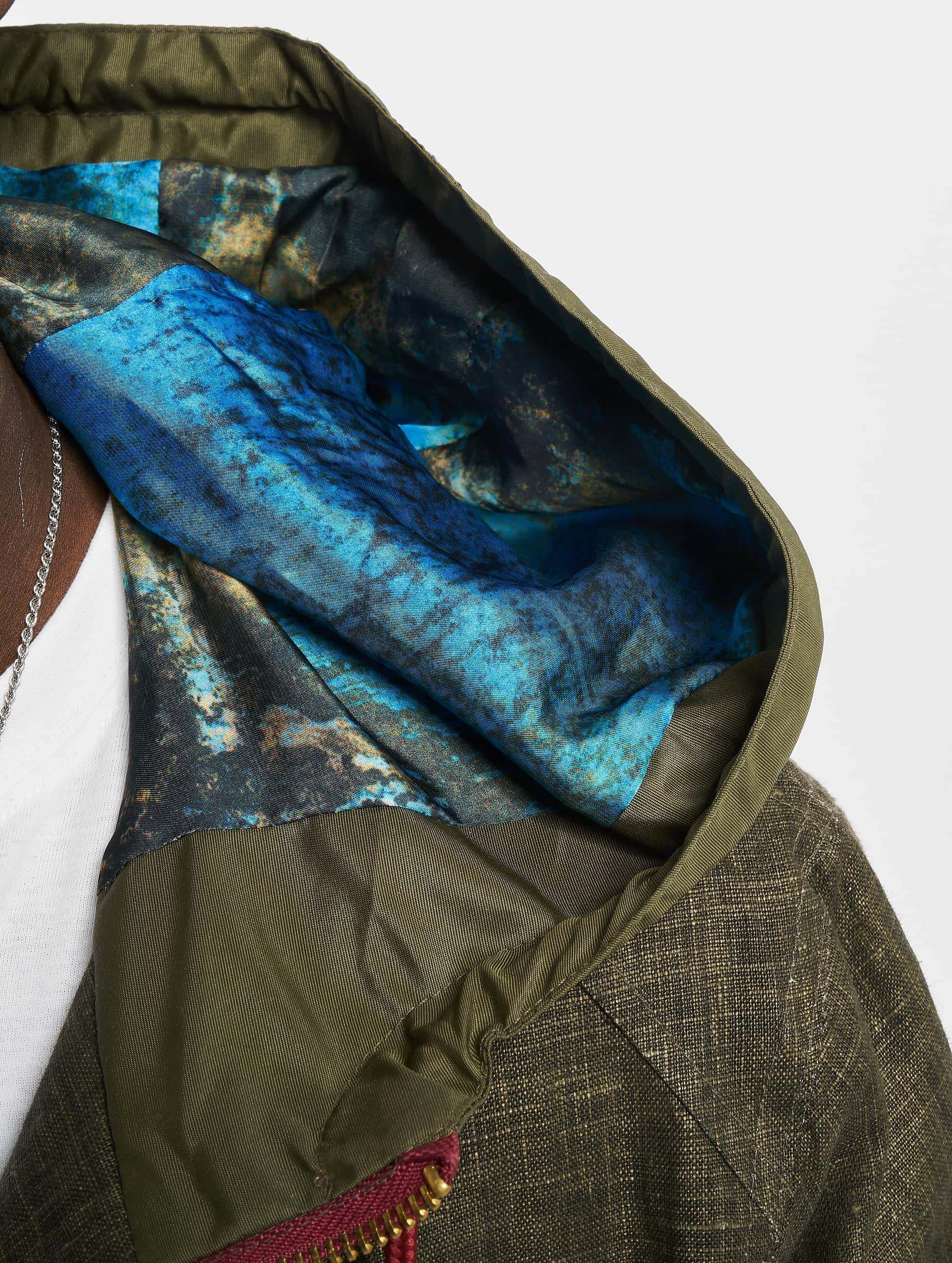VSCT Clubwear Välikausitakit Contrast Rain oliivi