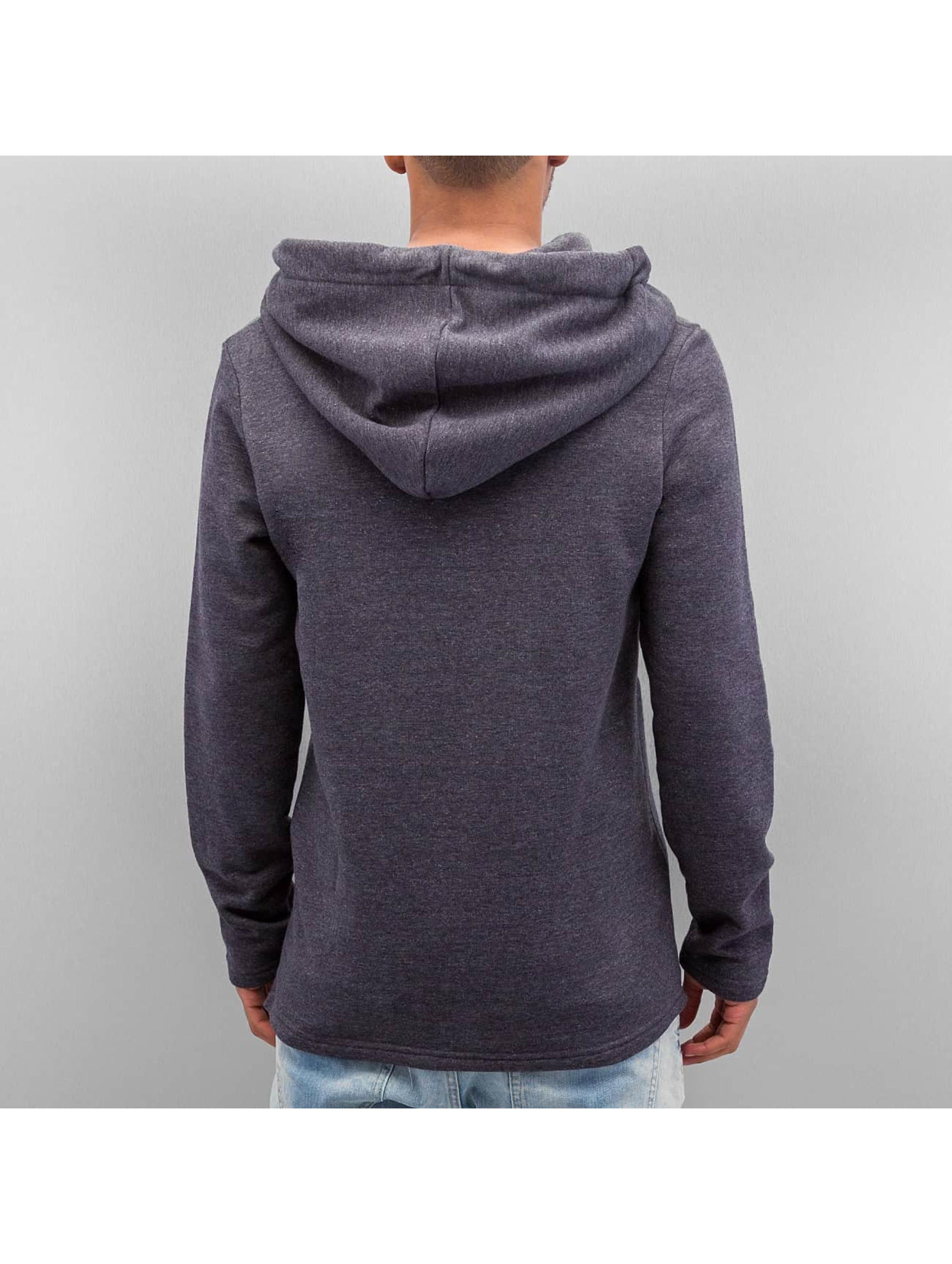 VSCT Clubwear Vetoketjuhupparit Hooded Luxury Asym Sweat harmaa