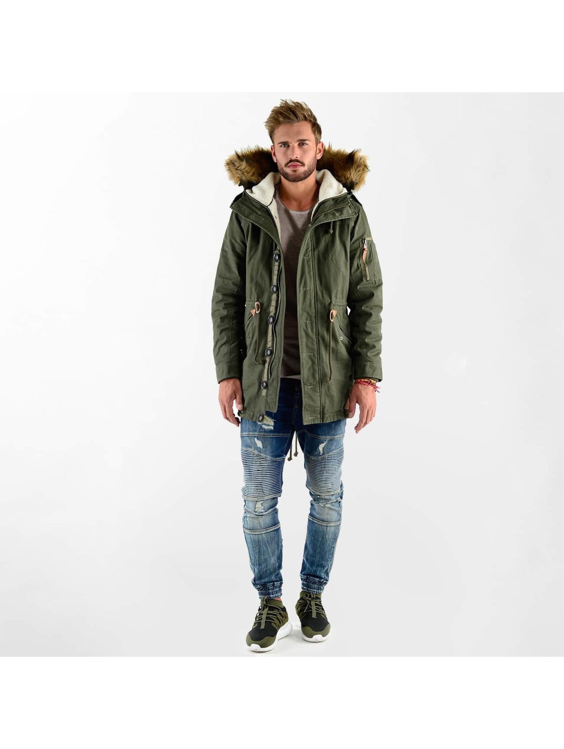VSCT Clubwear Vinterjakke Luxury Parka oliven