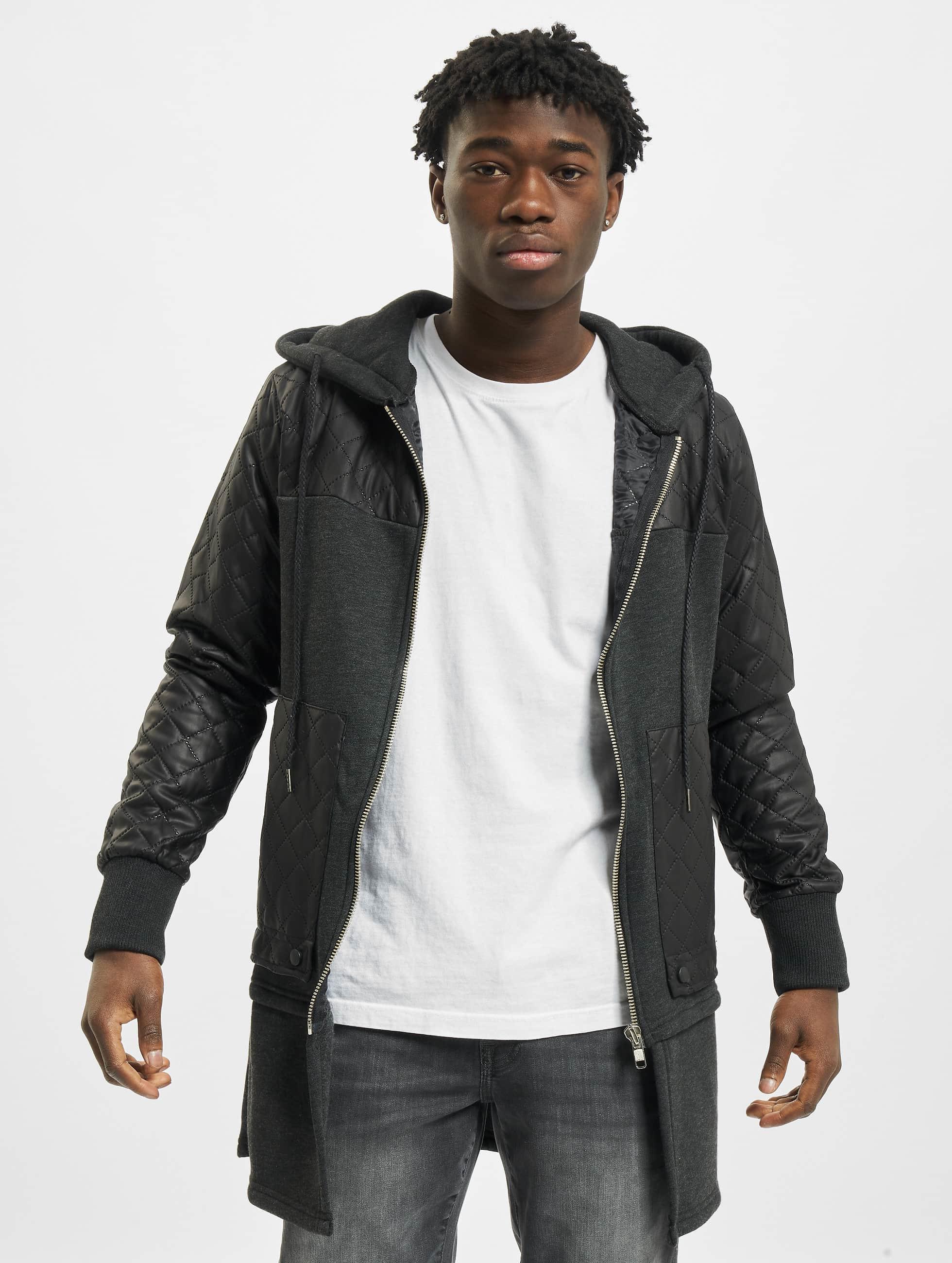 VSCT Clubwear Zip Hoodie Elite Long grau