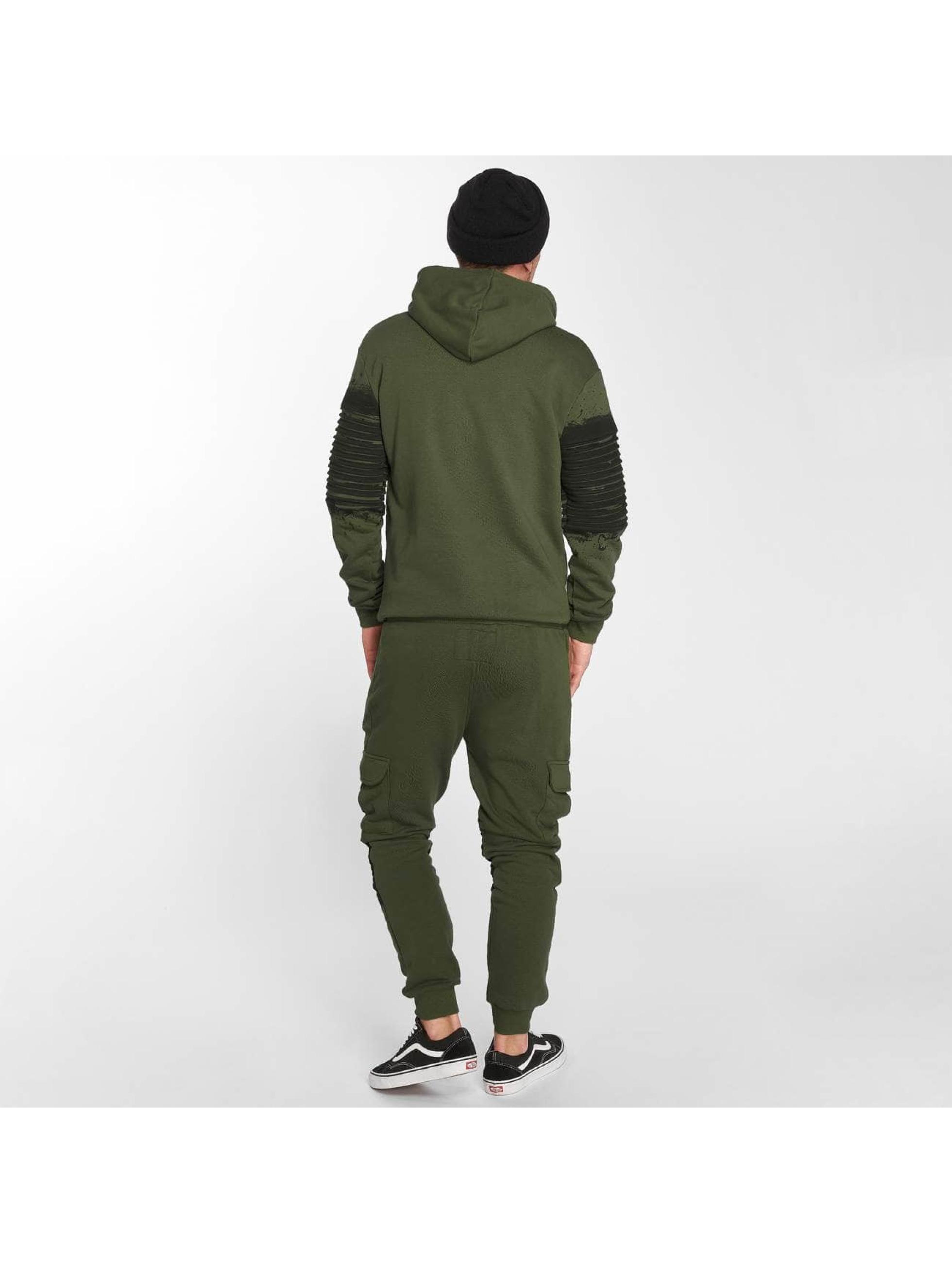 VSCT Clubwear Zip Hoodie Oiled kaki