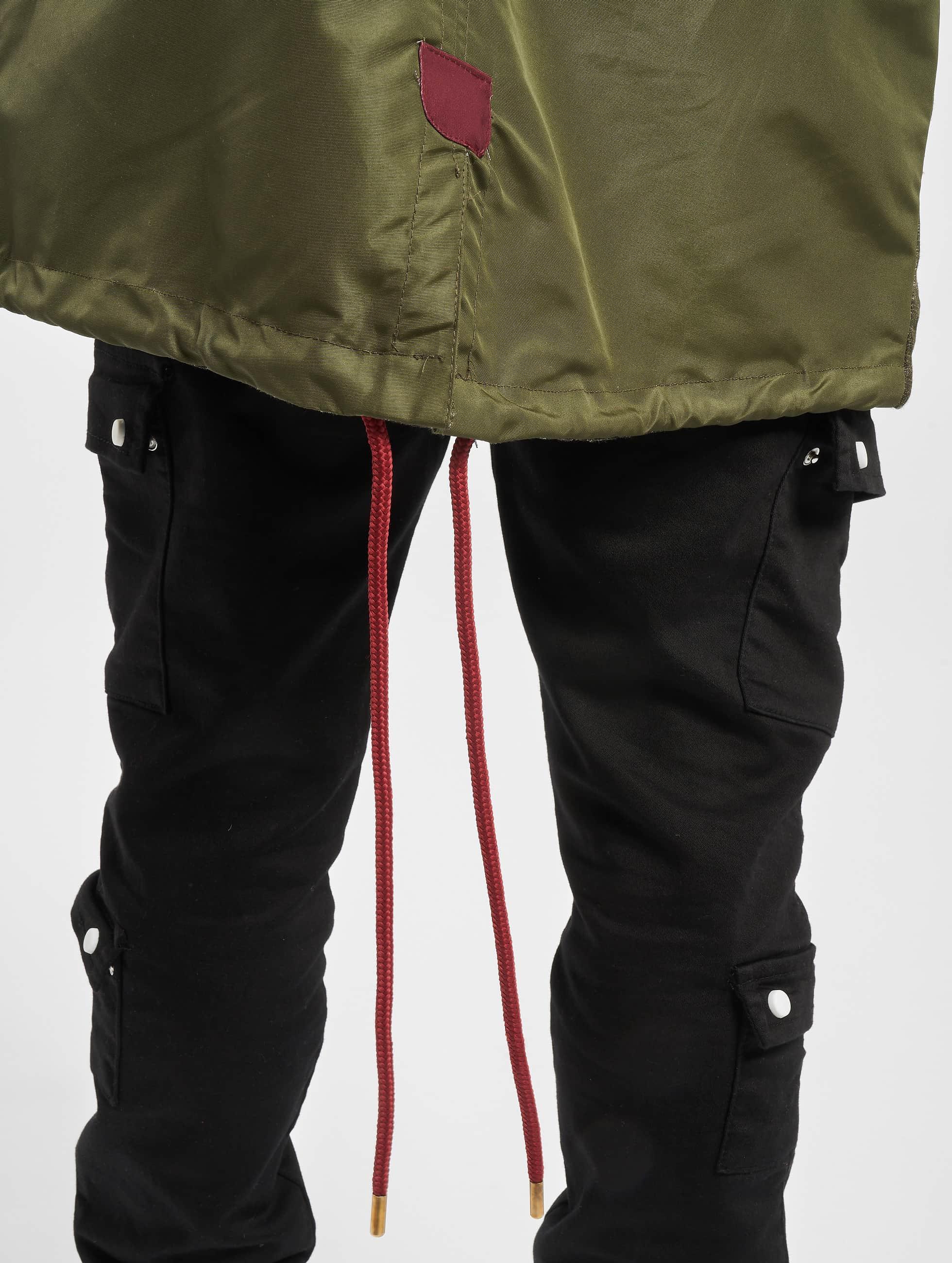 VSCT Clubwear Zomerjas Contrast Rain olijfgroen