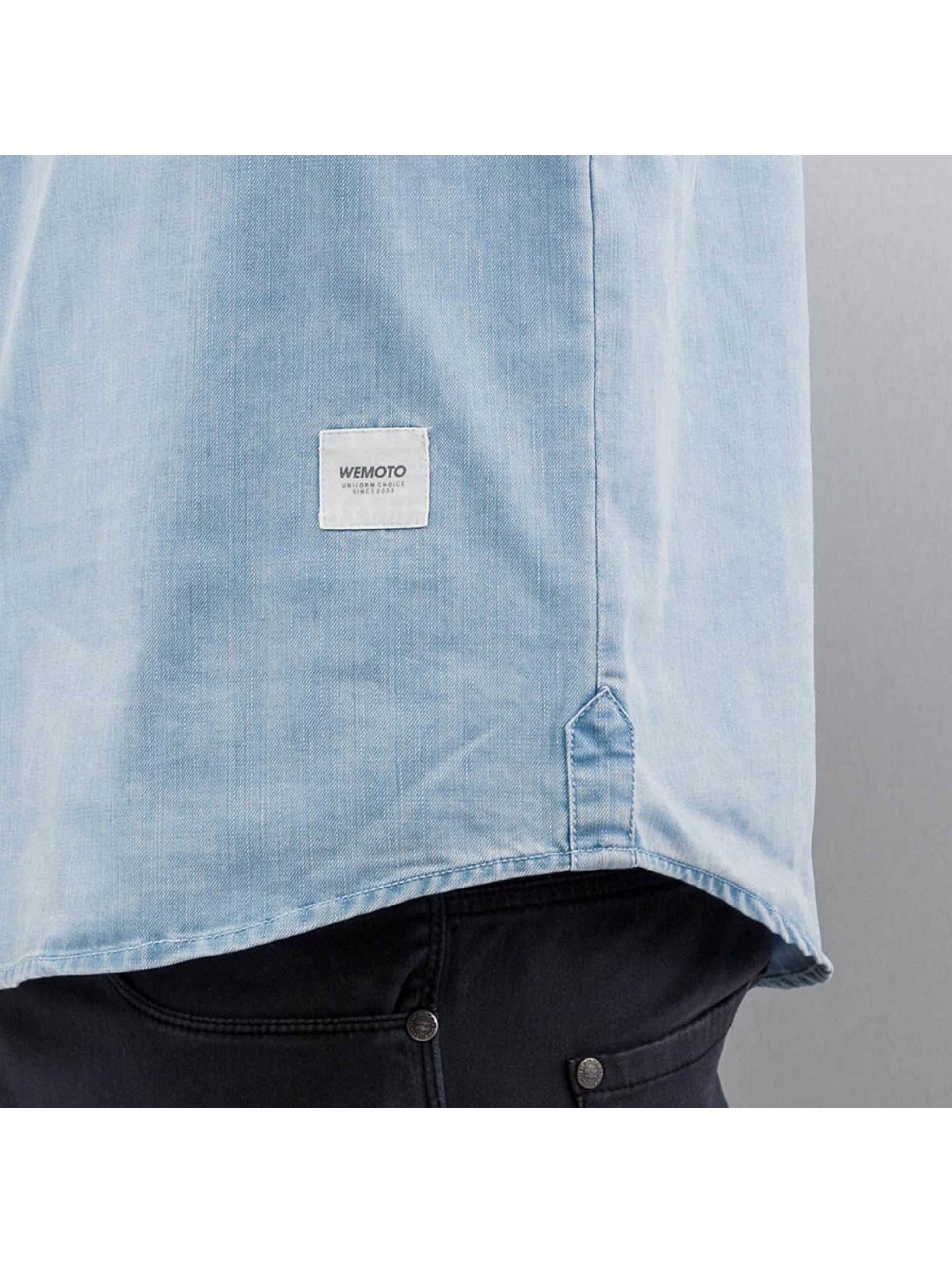 Wemoto Рубашка Raylon синий