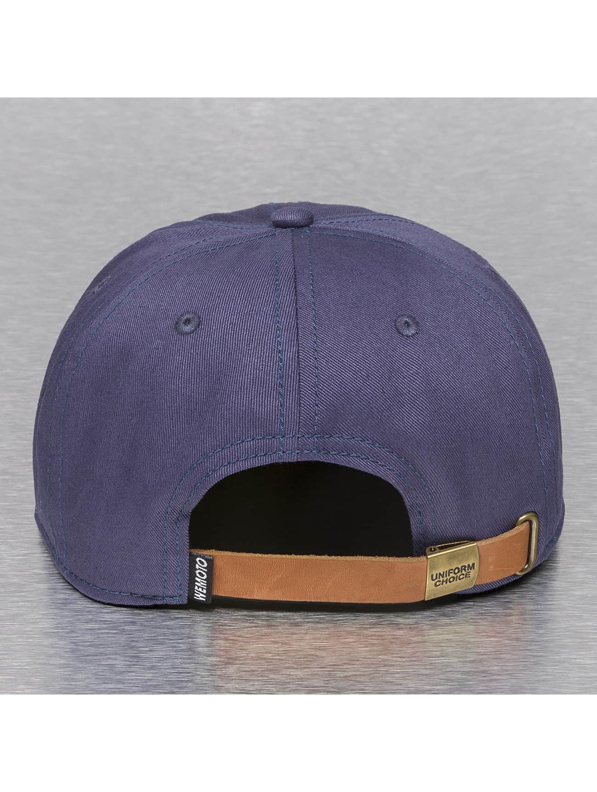 Wemoto Snapback Caps Boston sininen