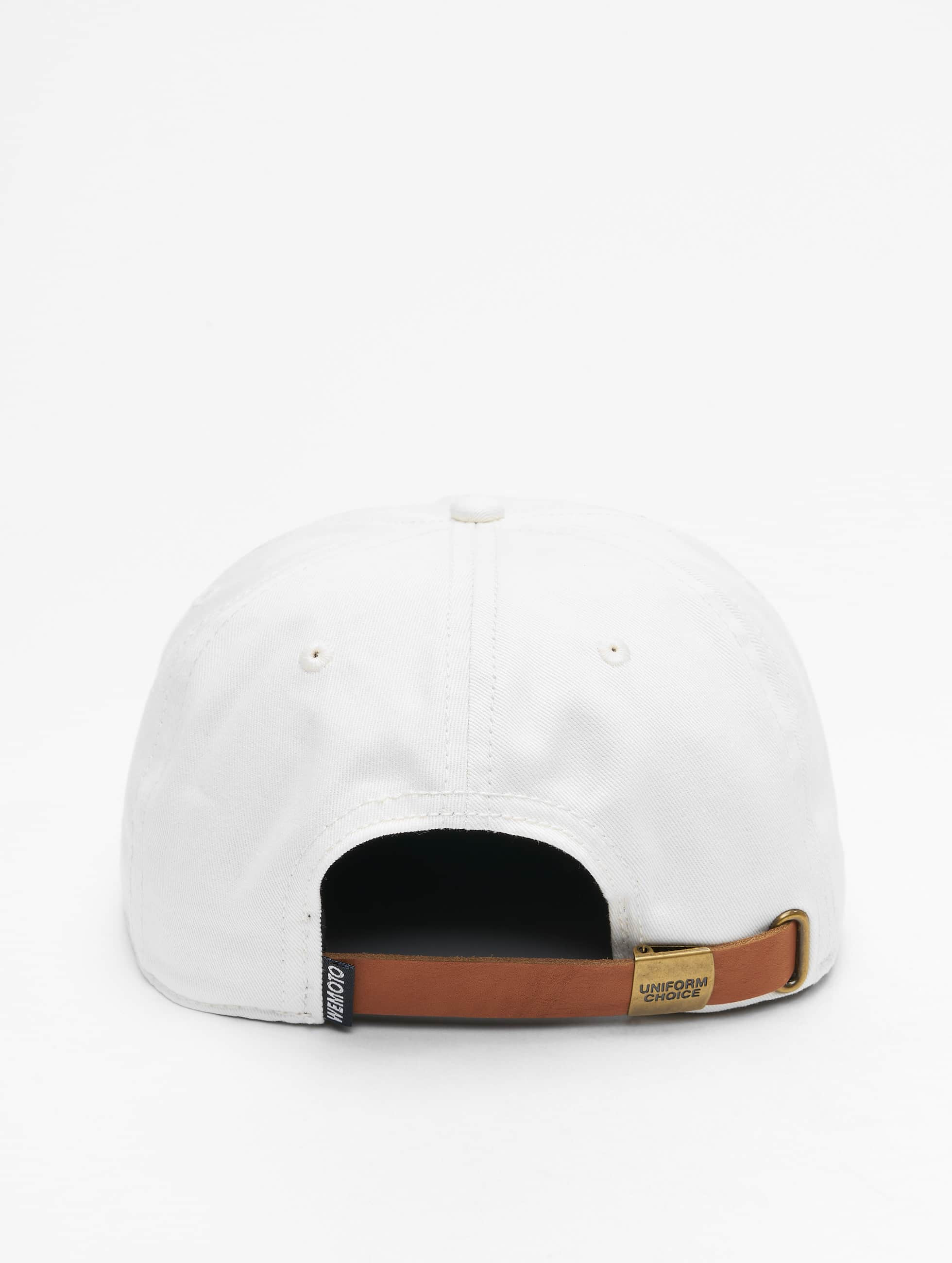 Wemoto Snapback Caps Boston valkoinen
