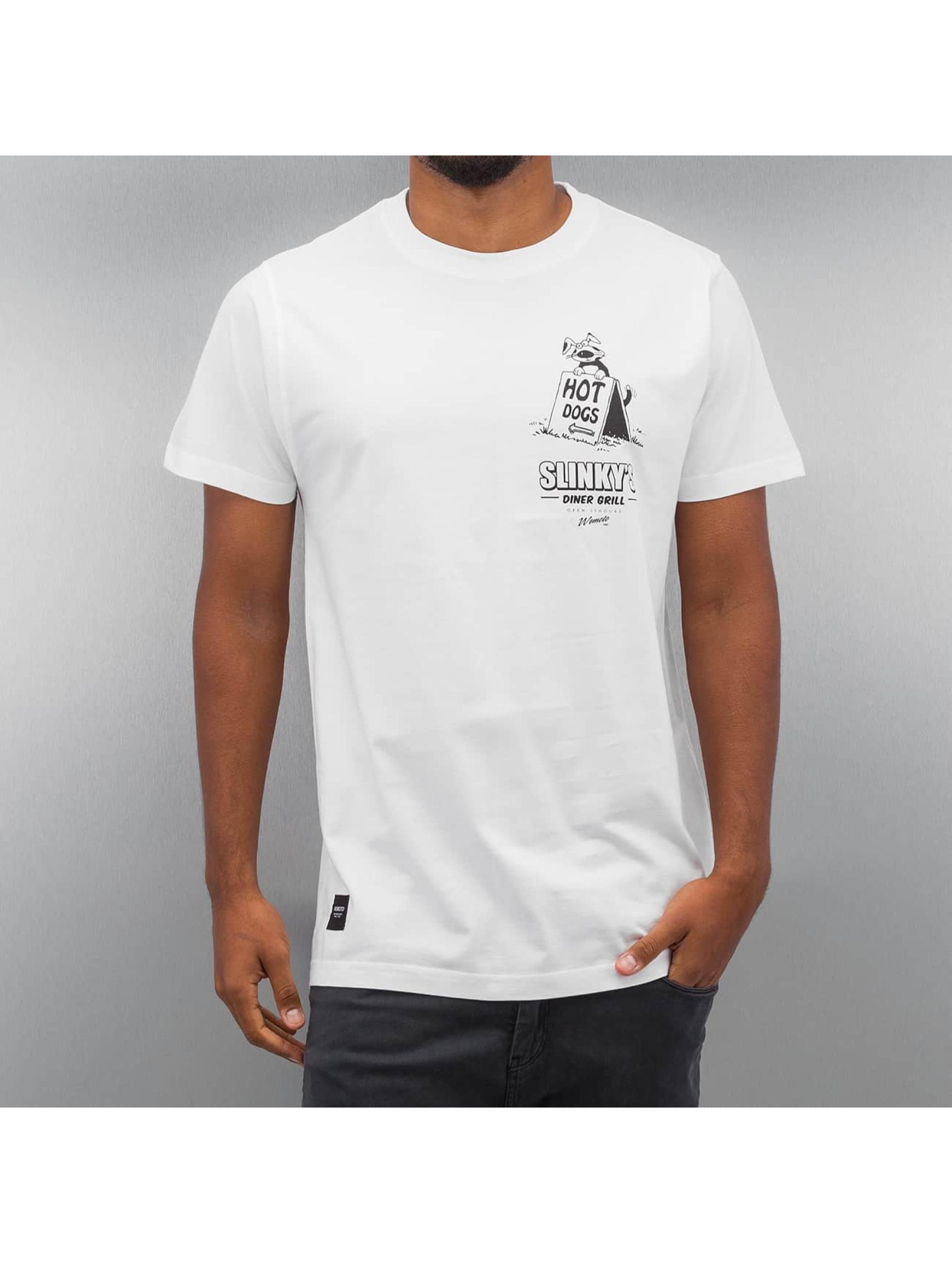 Wemoto T-Shirt Slinkys weiß