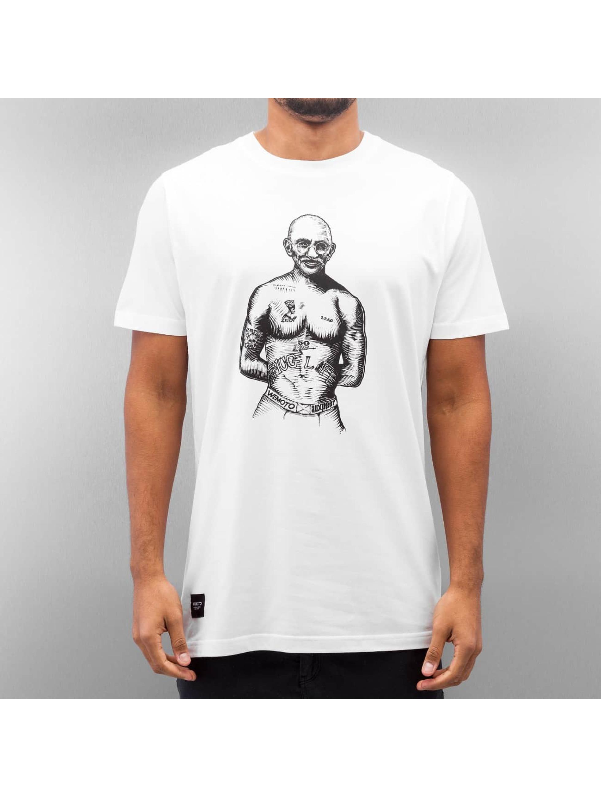 Wemoto t-shirt Mahood wit