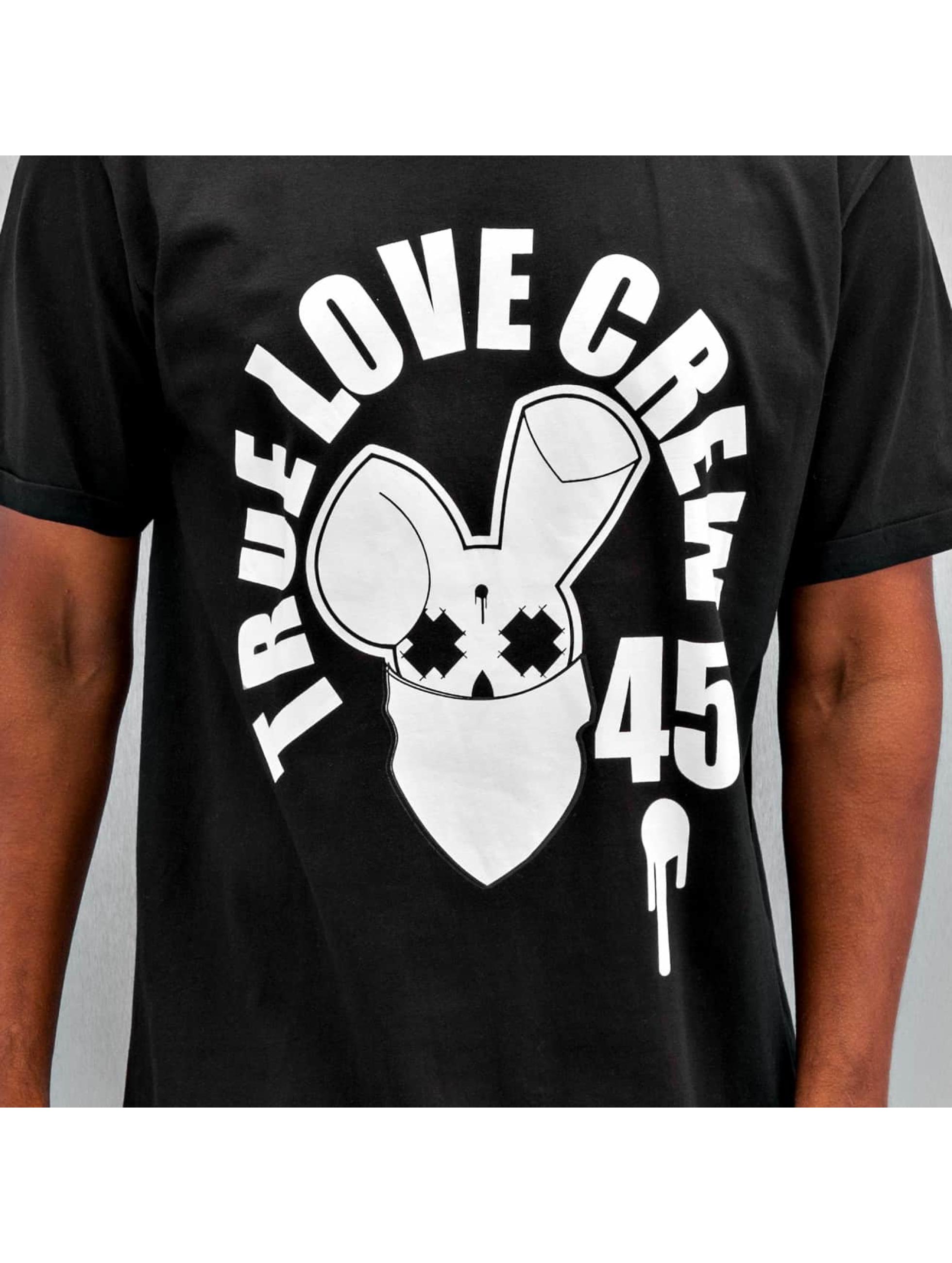 Who Shot Ya? Футболка True Love Crew 45 черный