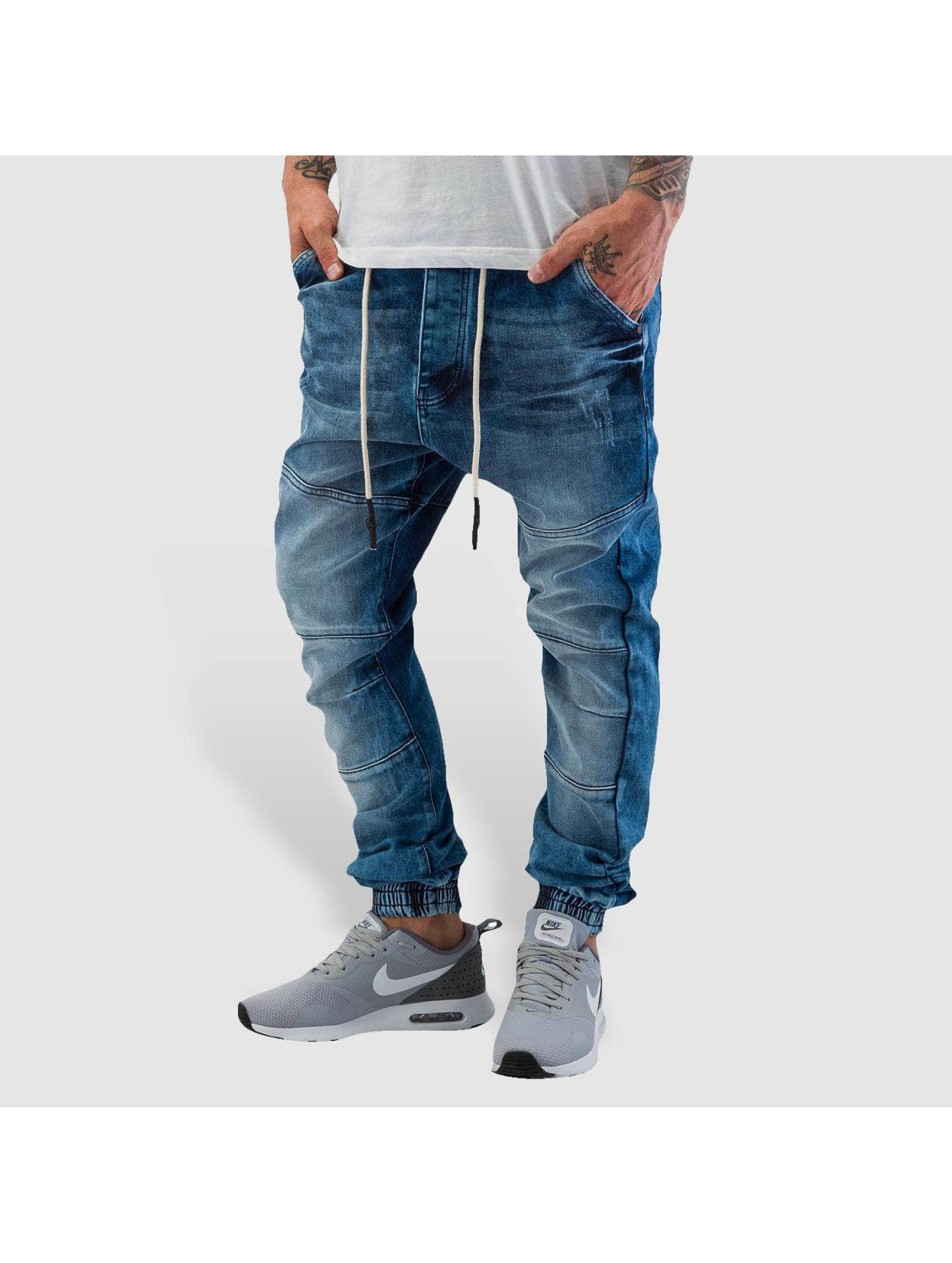 Who Shot Ya? Antifit jeans Antifit blå