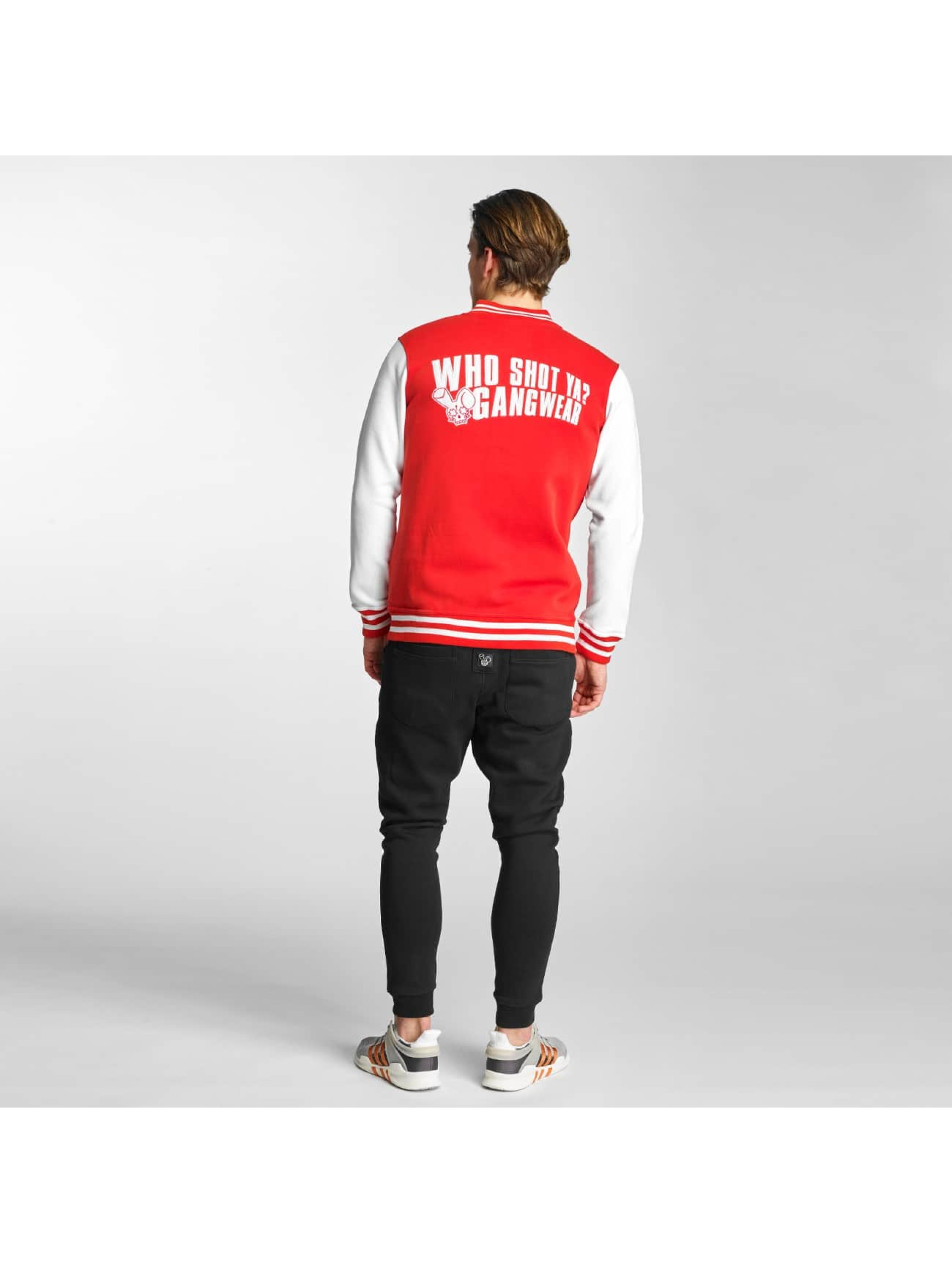 Who Shot Ya? College Jacket Alpha red