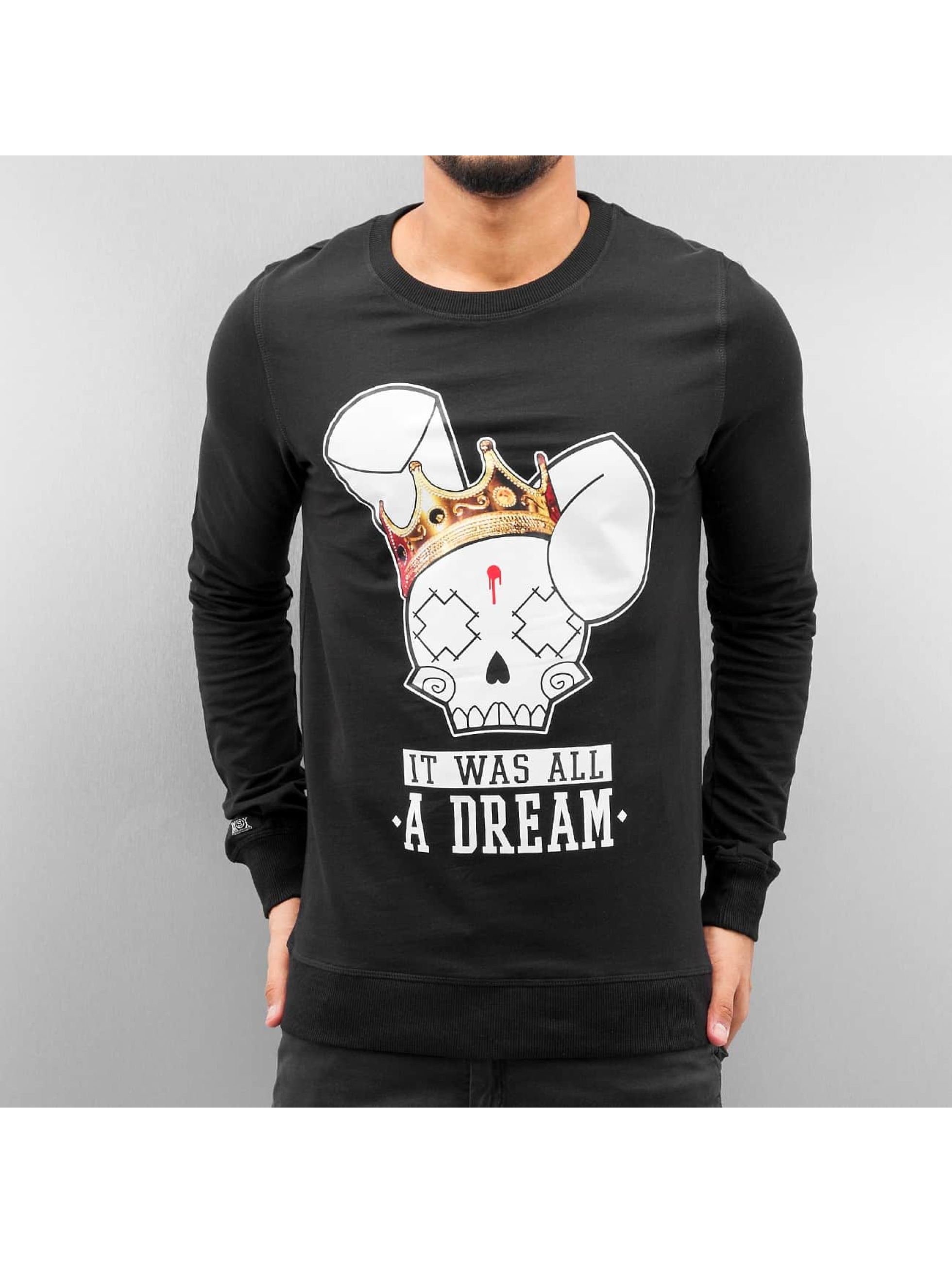 Who Shot Ya? Pullover Dream schwarz
