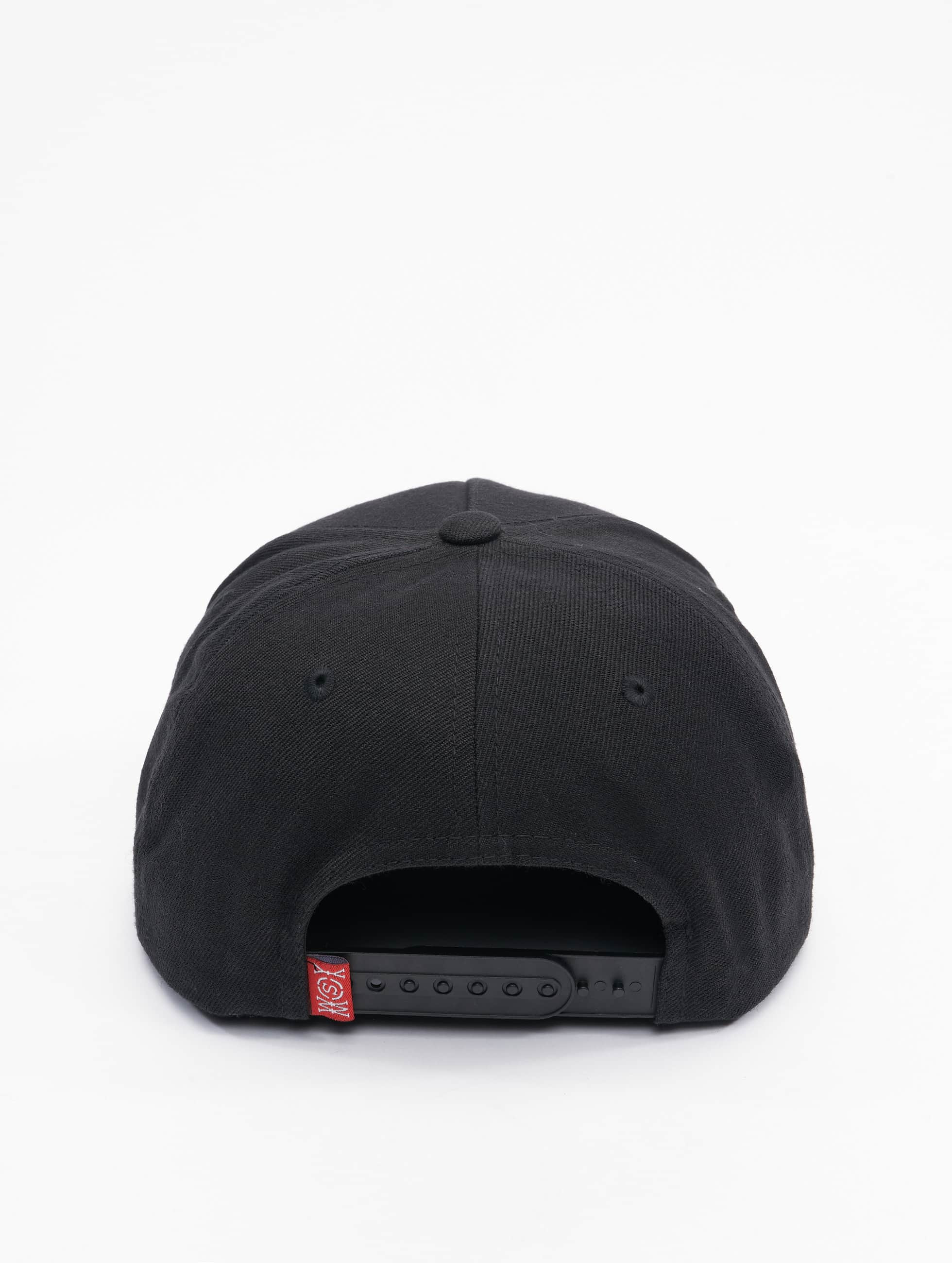 Who Shot Ya? Snapback Cap Chilibash black