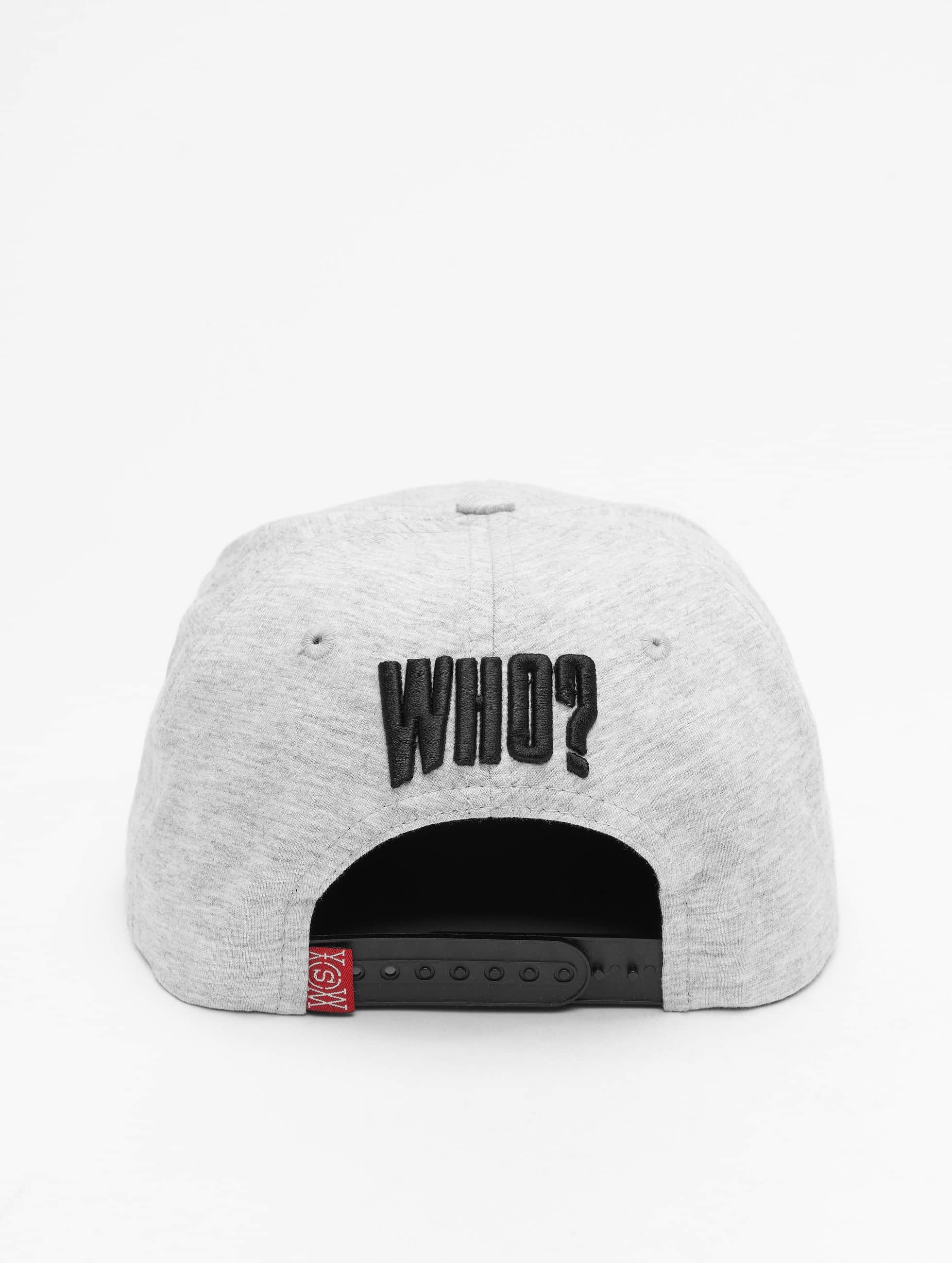 Who Shot Ya? Snapback Cap Dream grau