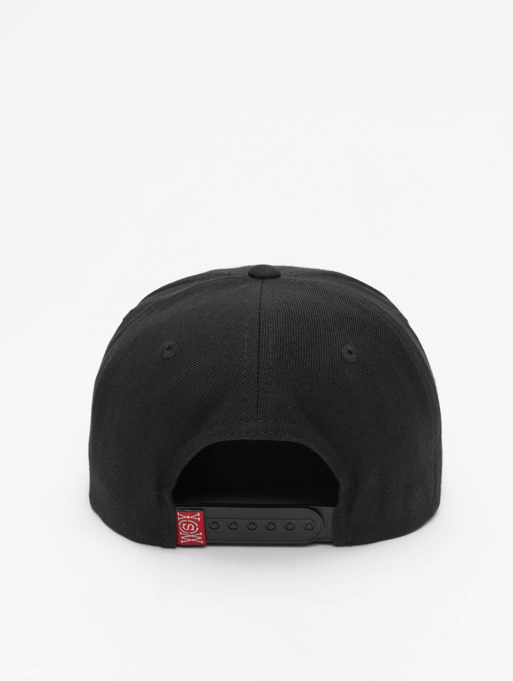Who Shot Ya? Snapback Caps Gangwear czarny