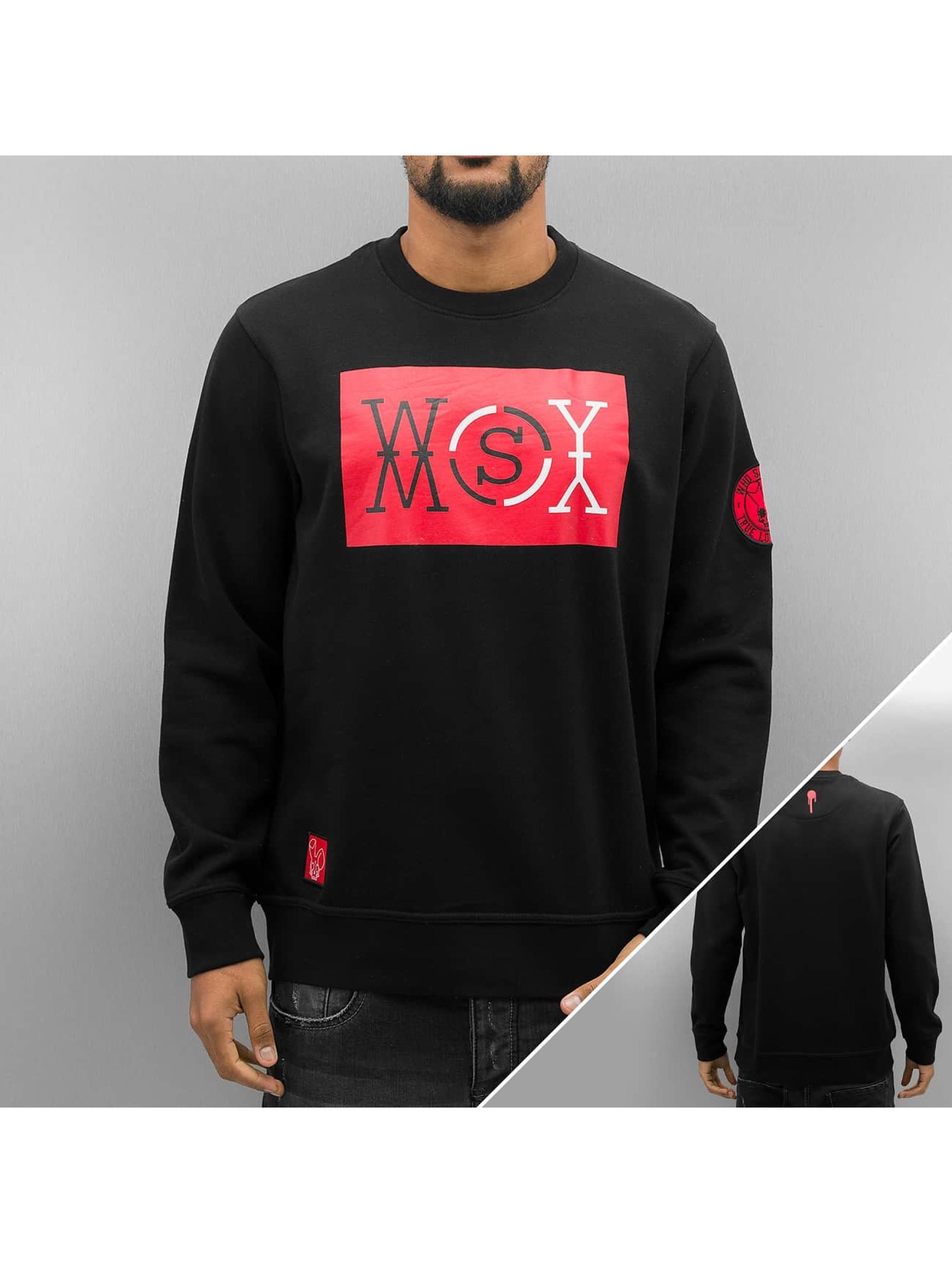 Who Shot Ya? Swetry Logo czarny