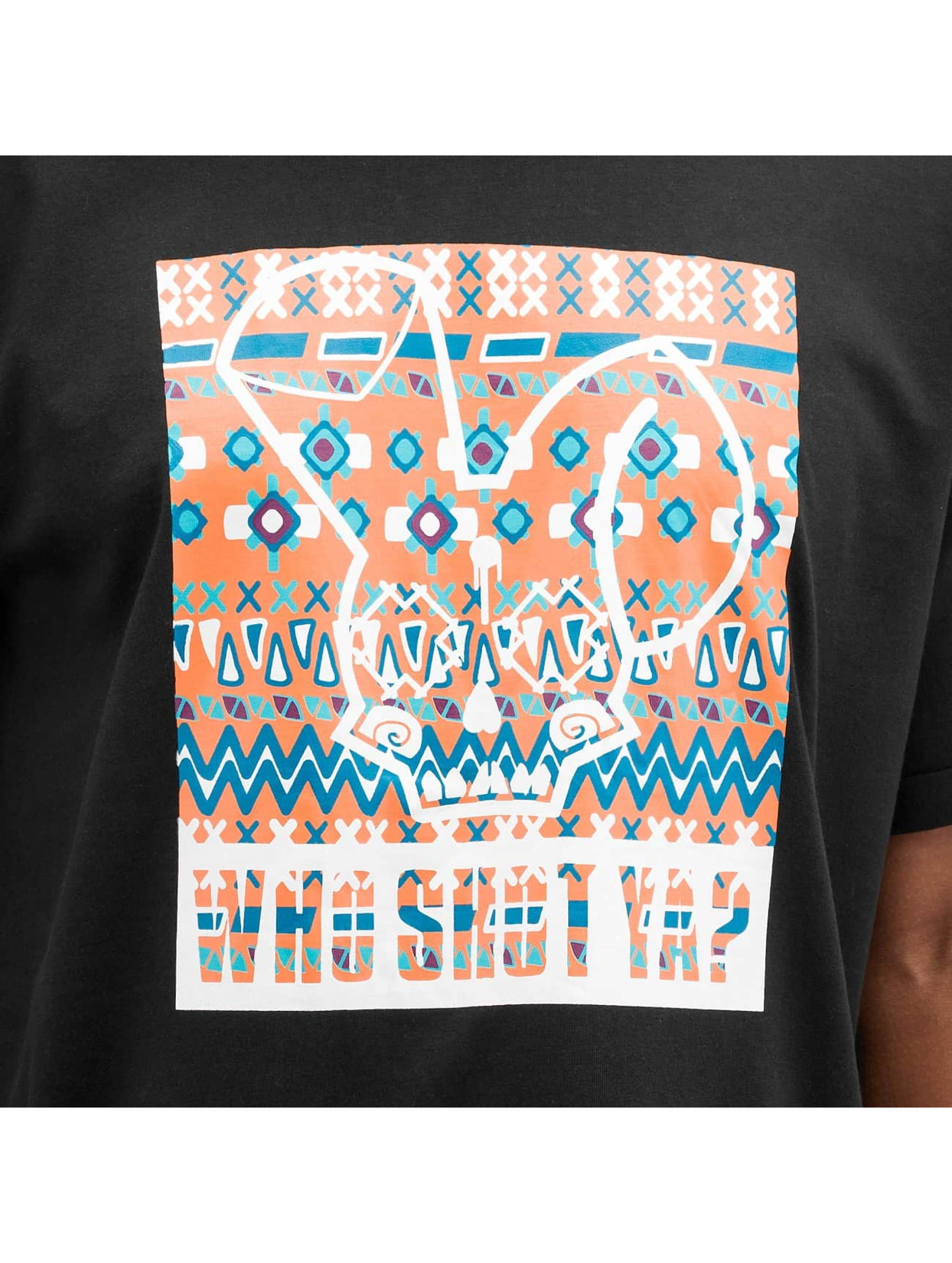 Who Shot Ya? T-Shirt Freek black