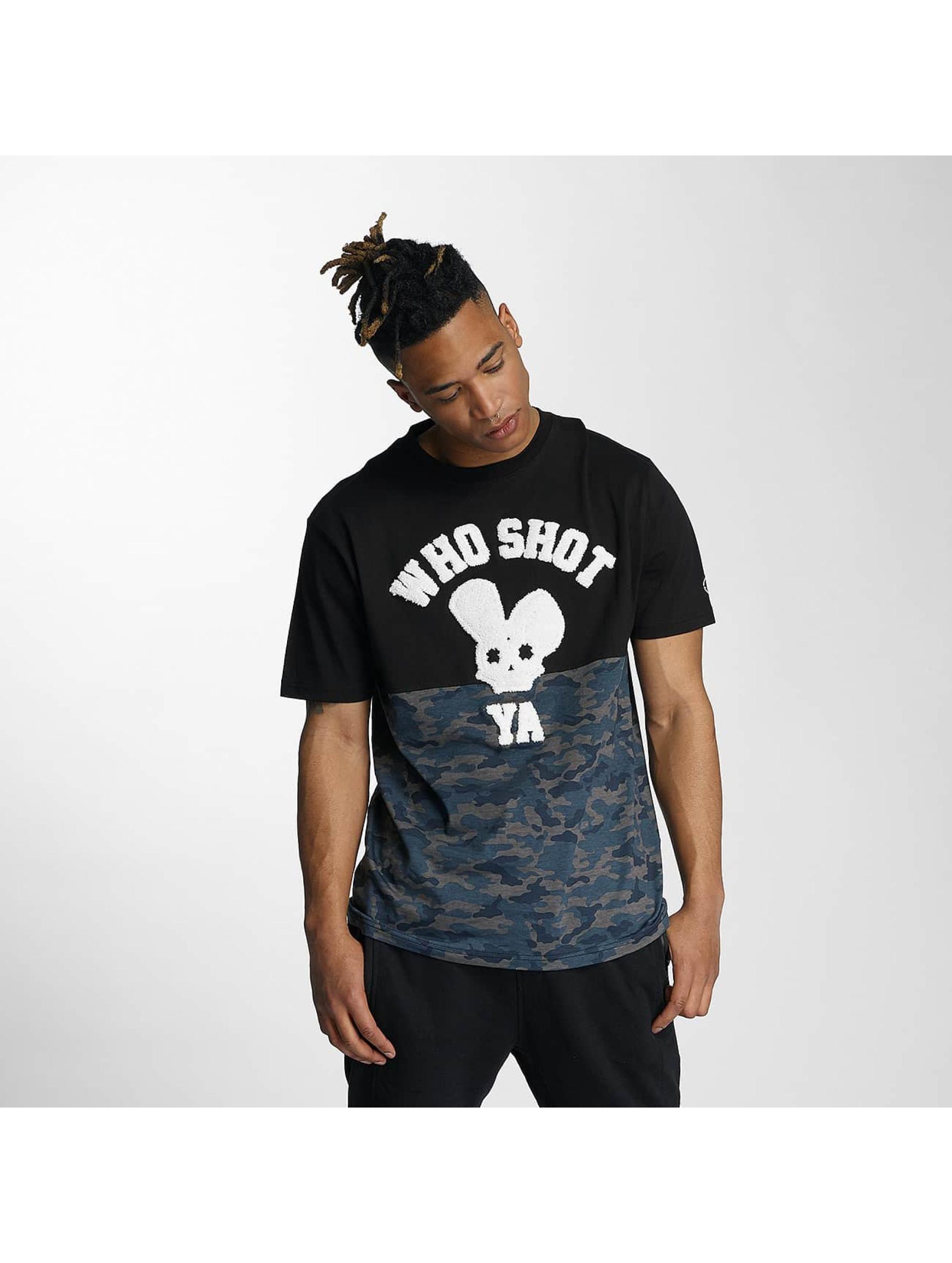 Who Shot Ya? T-Shirt Darkcamou black