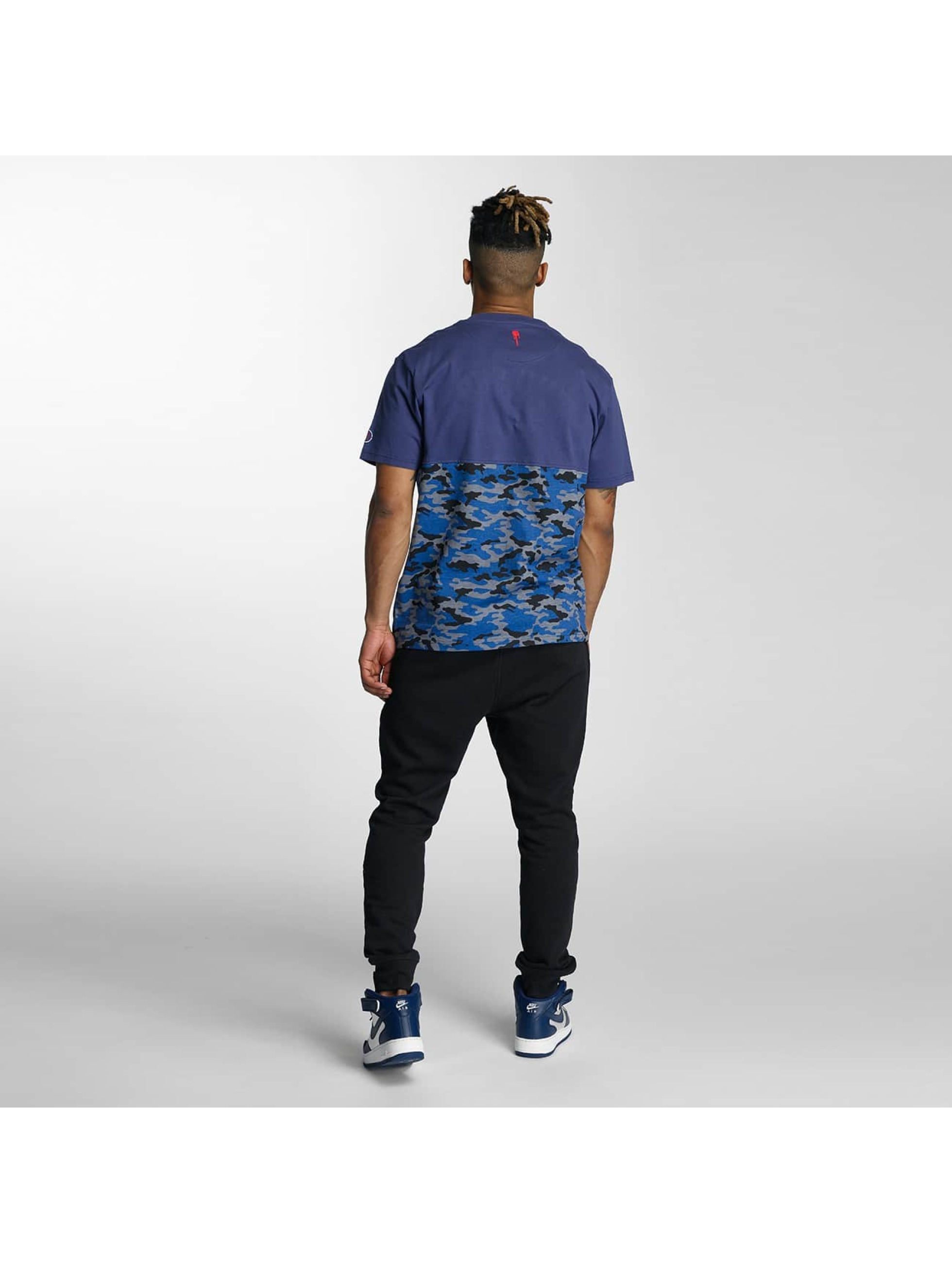 Who Shot Ya? T-Shirt Bluecamou blue