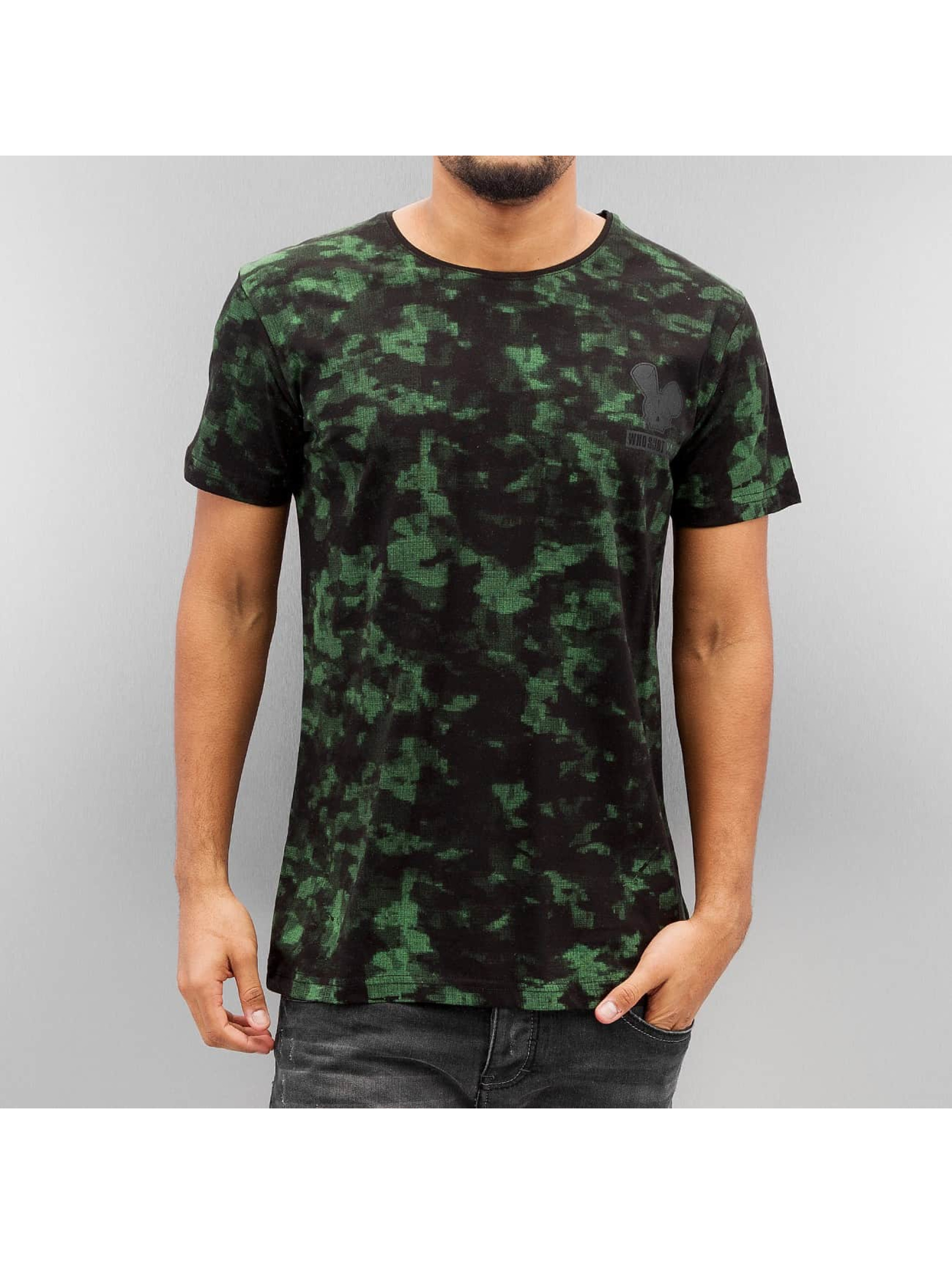 Who Shot Ya? Haut / T-Shirt Fashion en camouflage