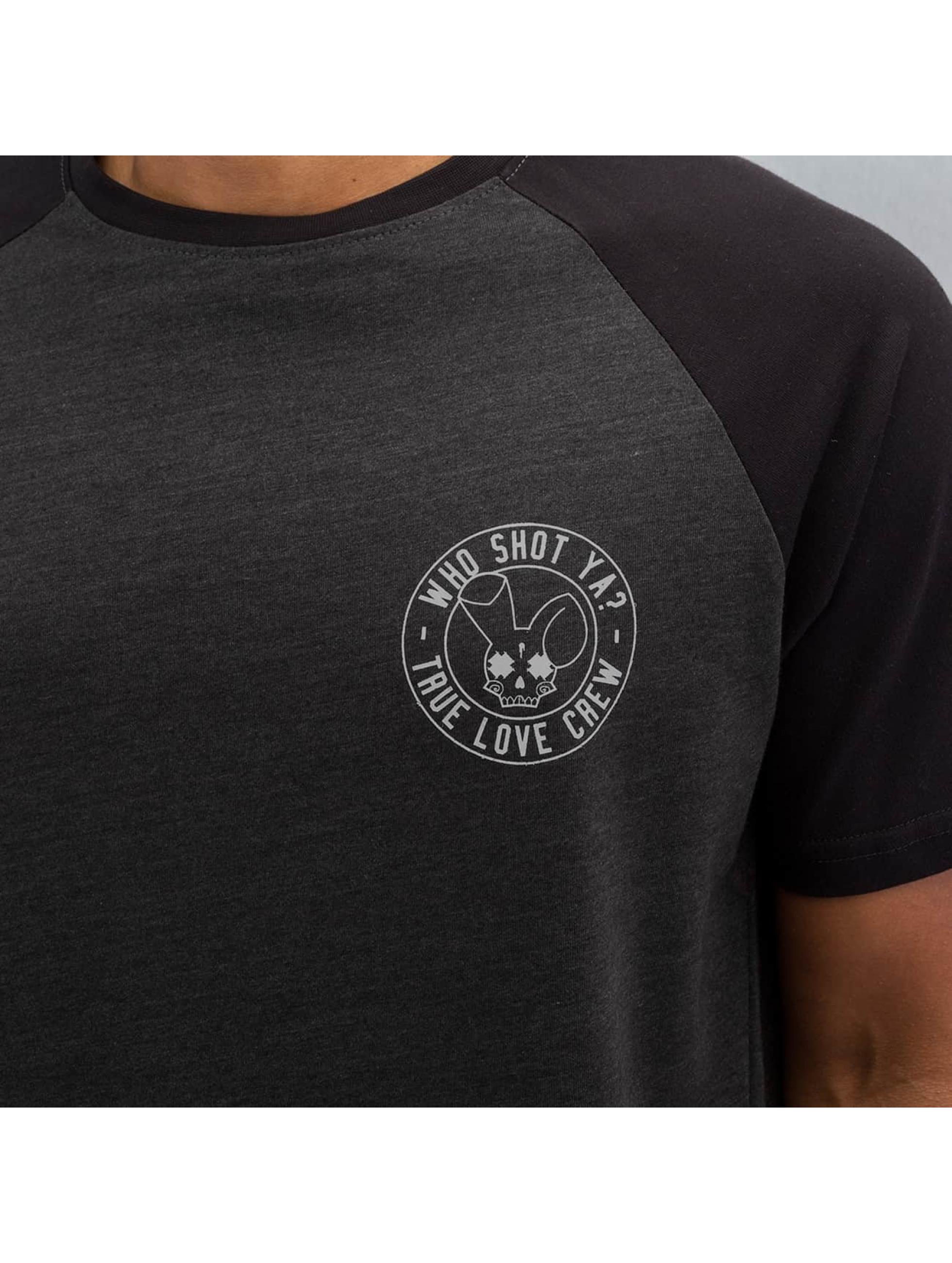 Who Shot Ya? T-Shirt True Love Crew grey