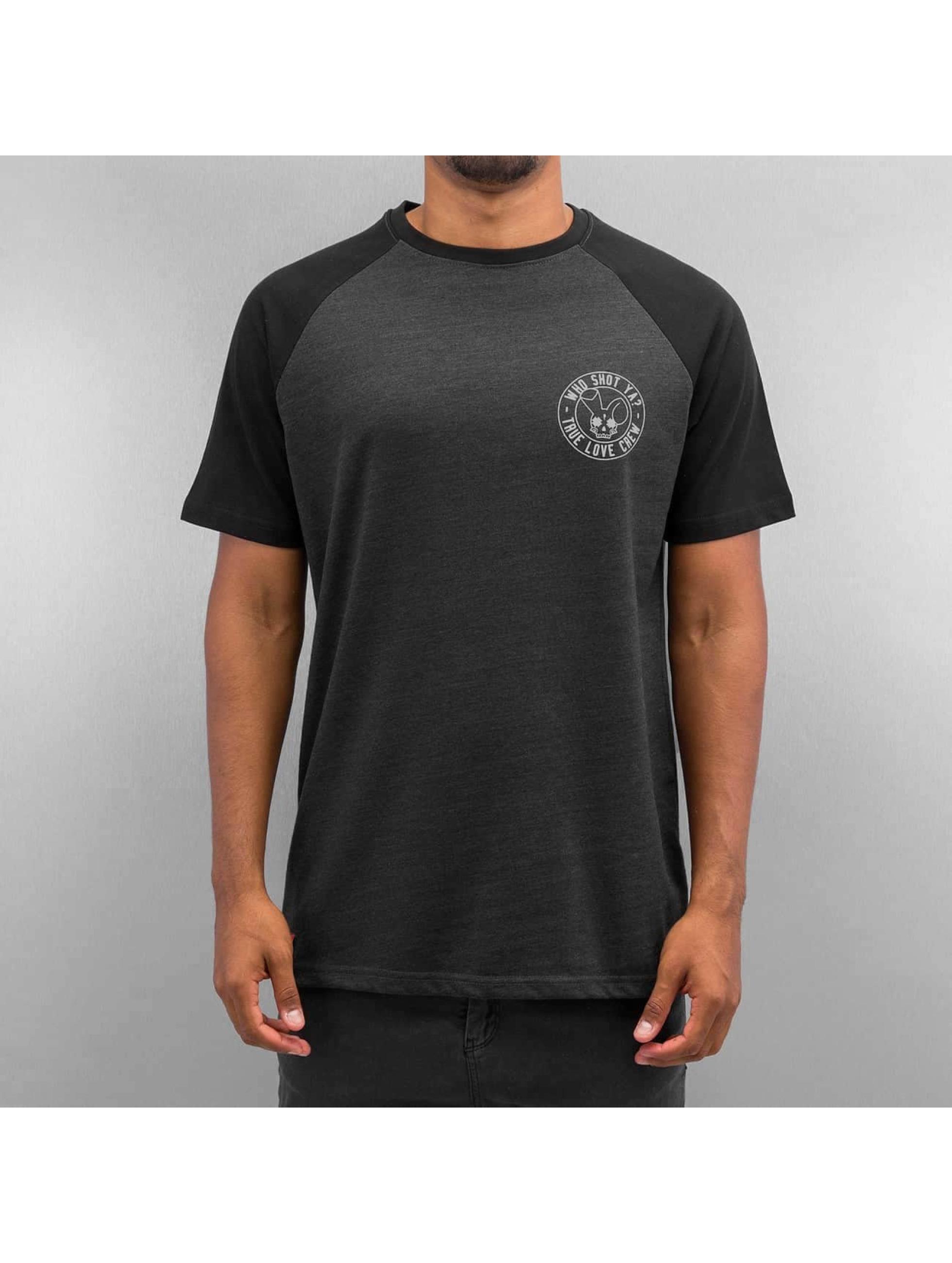 Who Shot Ya? T-Shirt True Love Crew gris