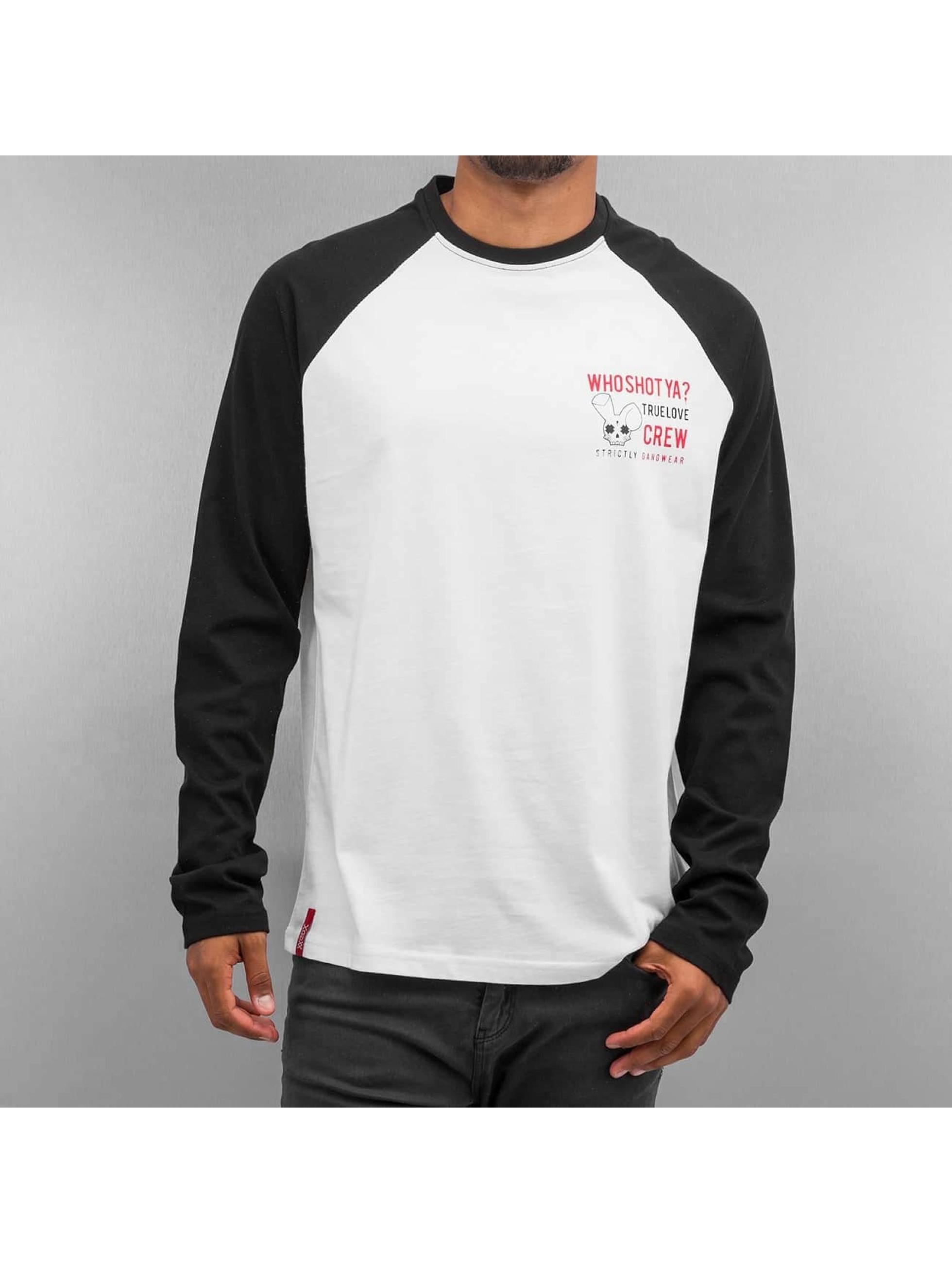 Who Shot Ya? T-Shirt manches longues True Love Crew noir