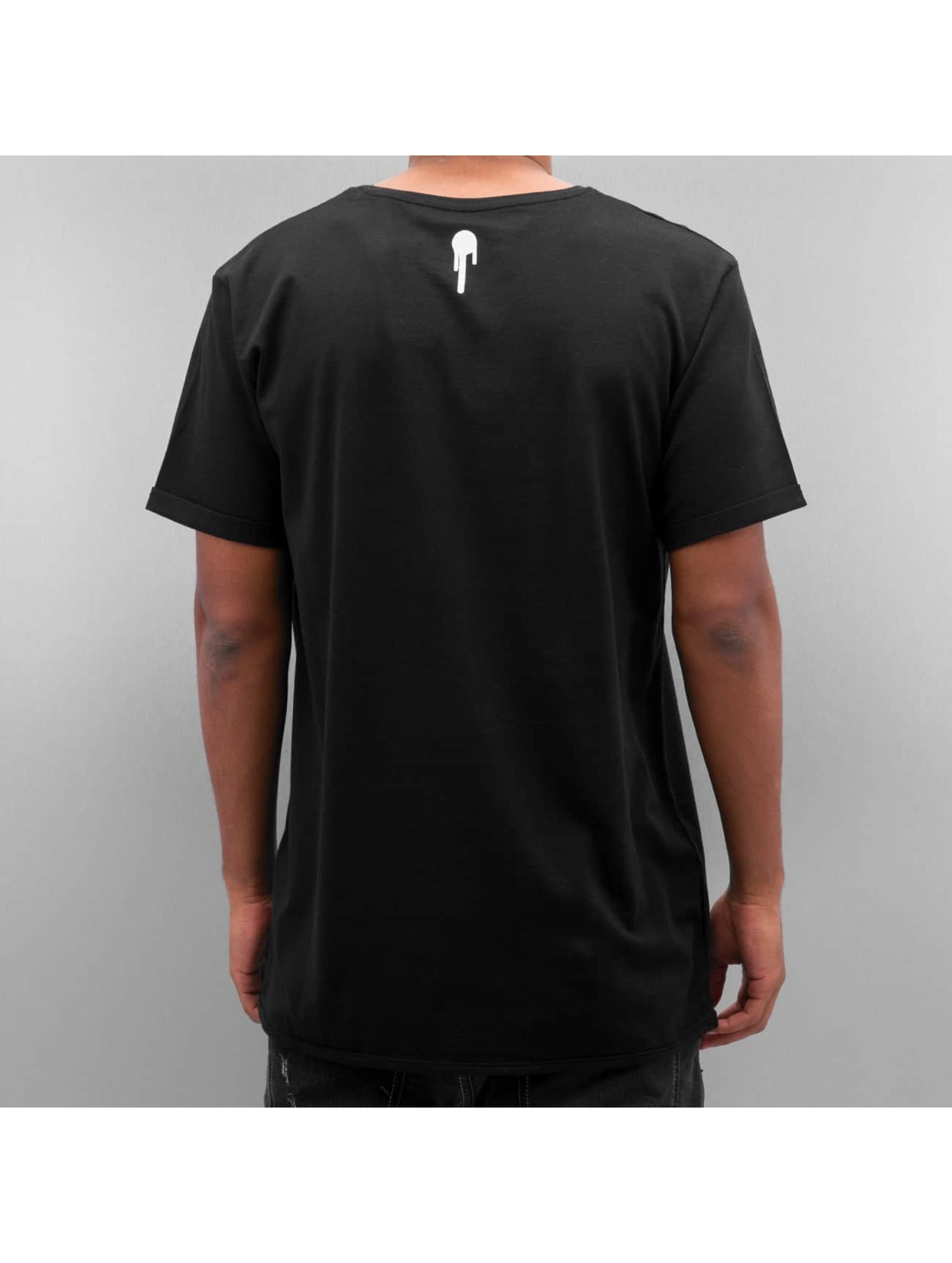 Who Shot Ya? t-shirt Collegebro zwart