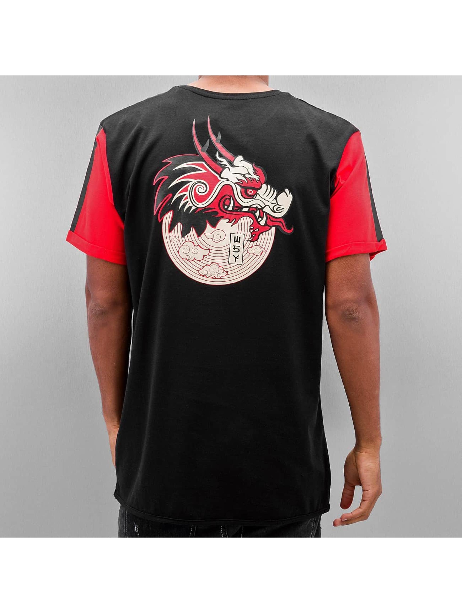 Who Shot Ya? T-Shirty Dragonpower czarny