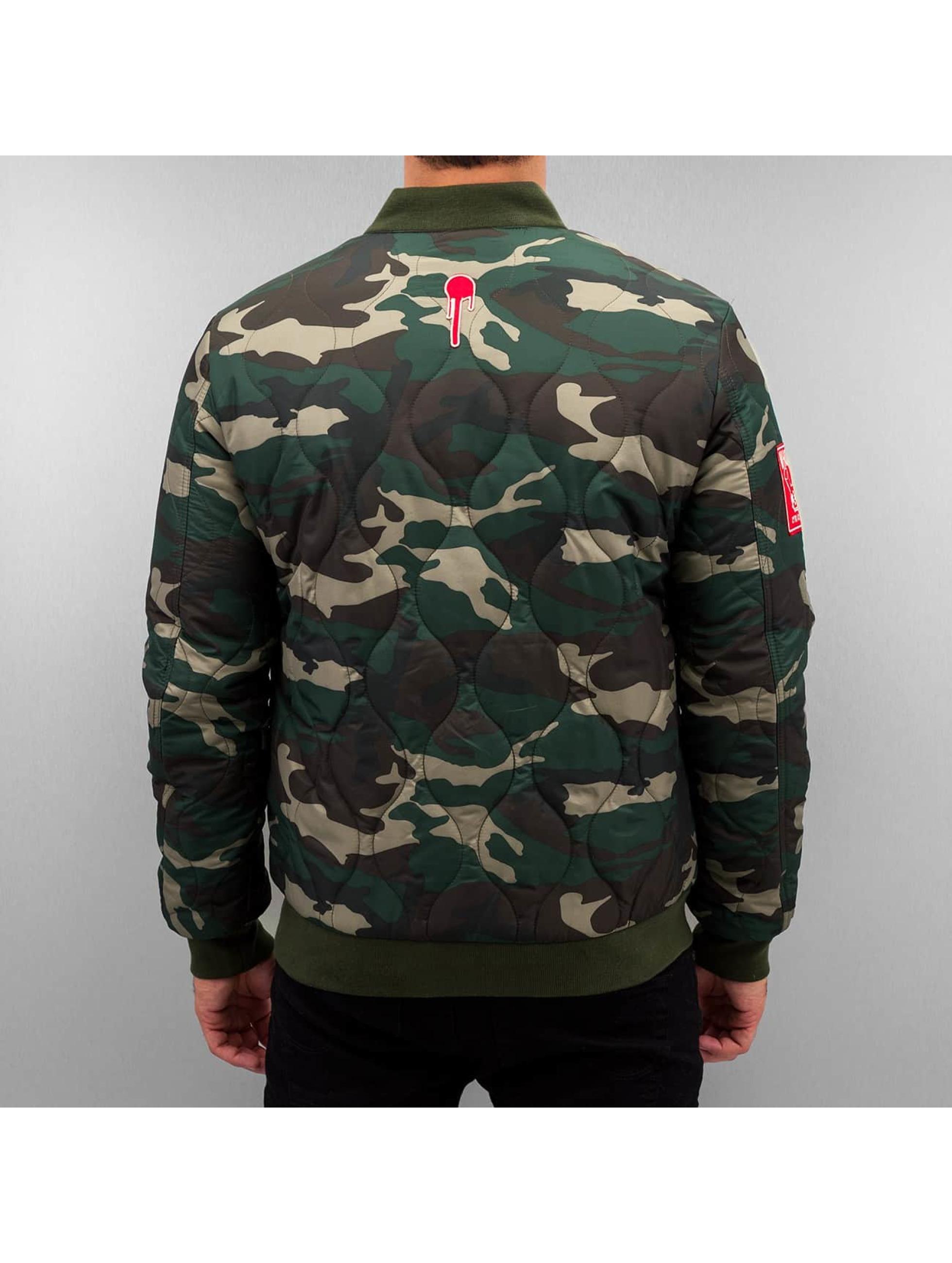 Who Shot Ya? Übergangsjacke Camo camouflage