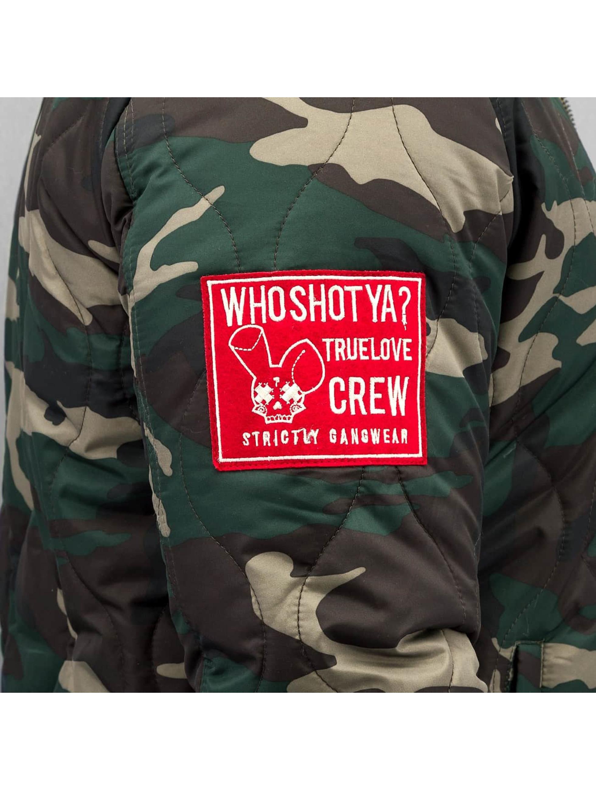Who Shot Ya? Veste mi-saison légère Camo camouflage