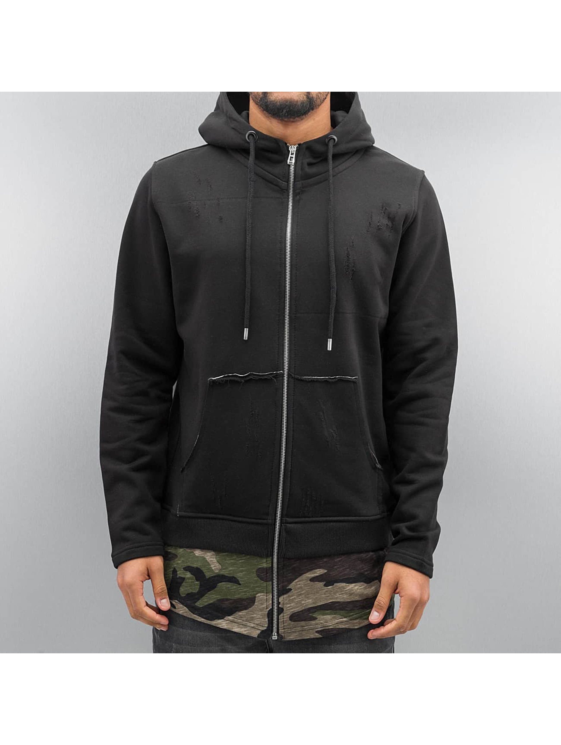 Who Shot Ya? Zip Hoodie Yovo black