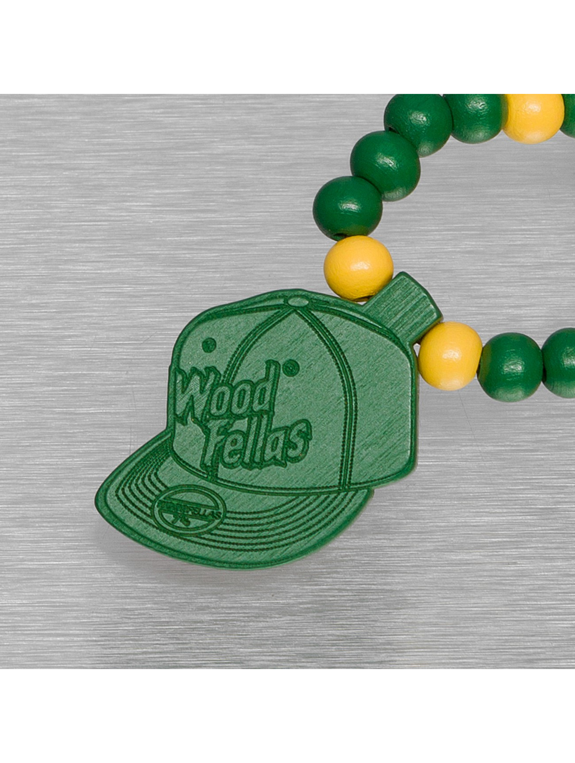 Wood Fellas Цепочка Cap зеленый