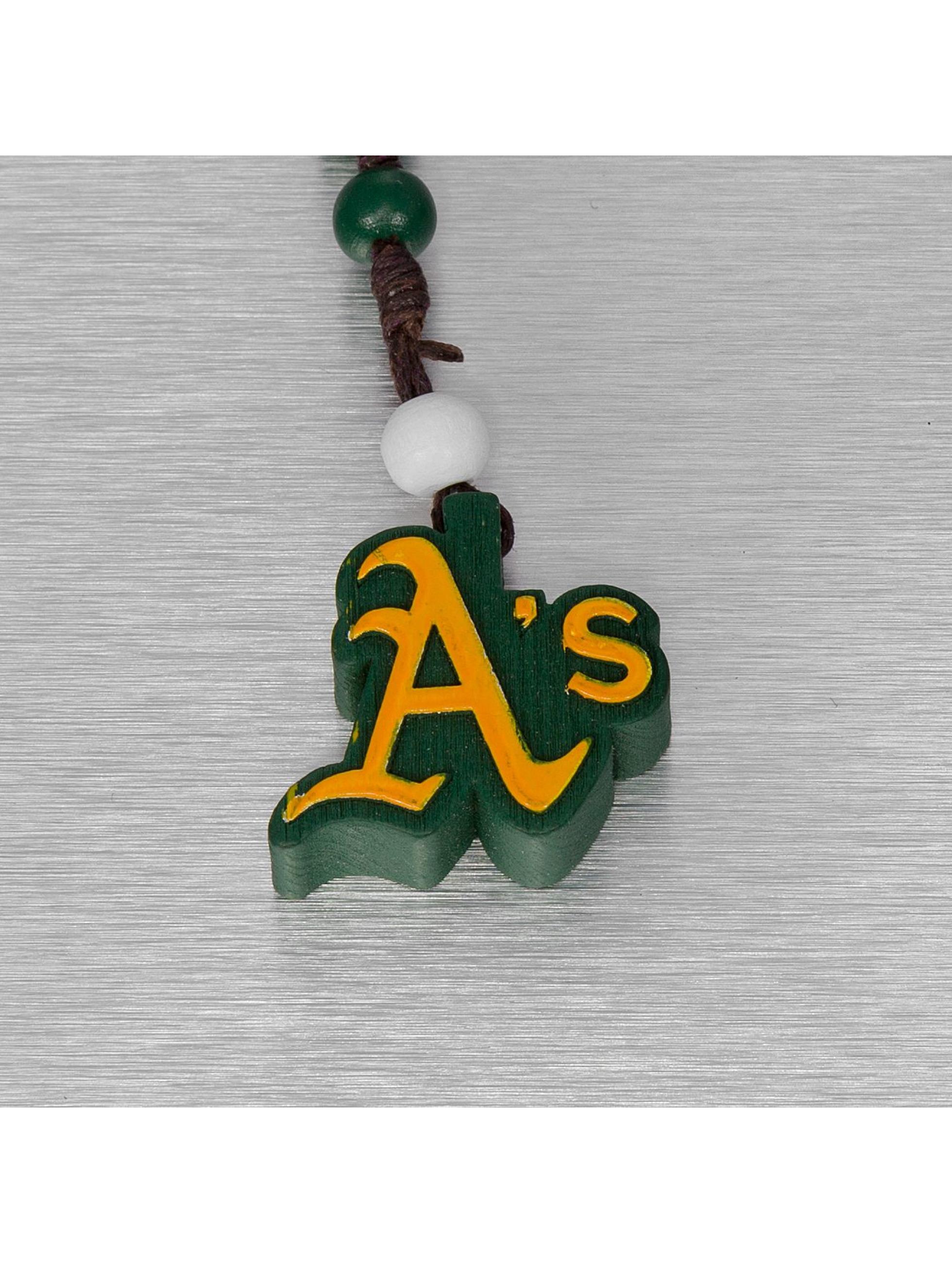 Wood Fellas Collier MLB Oakland Athletics Team vert