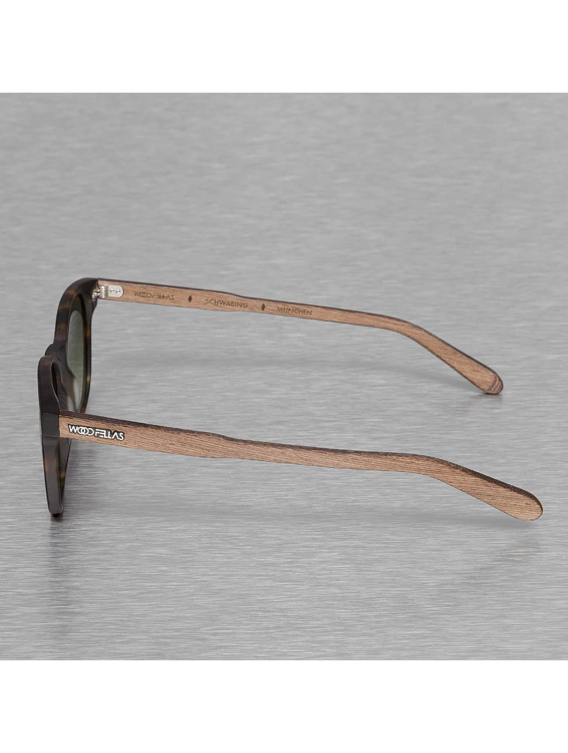 Wood Fellas Eyewear Очки Eyewear Schwabing Polarized Mirror коричневый