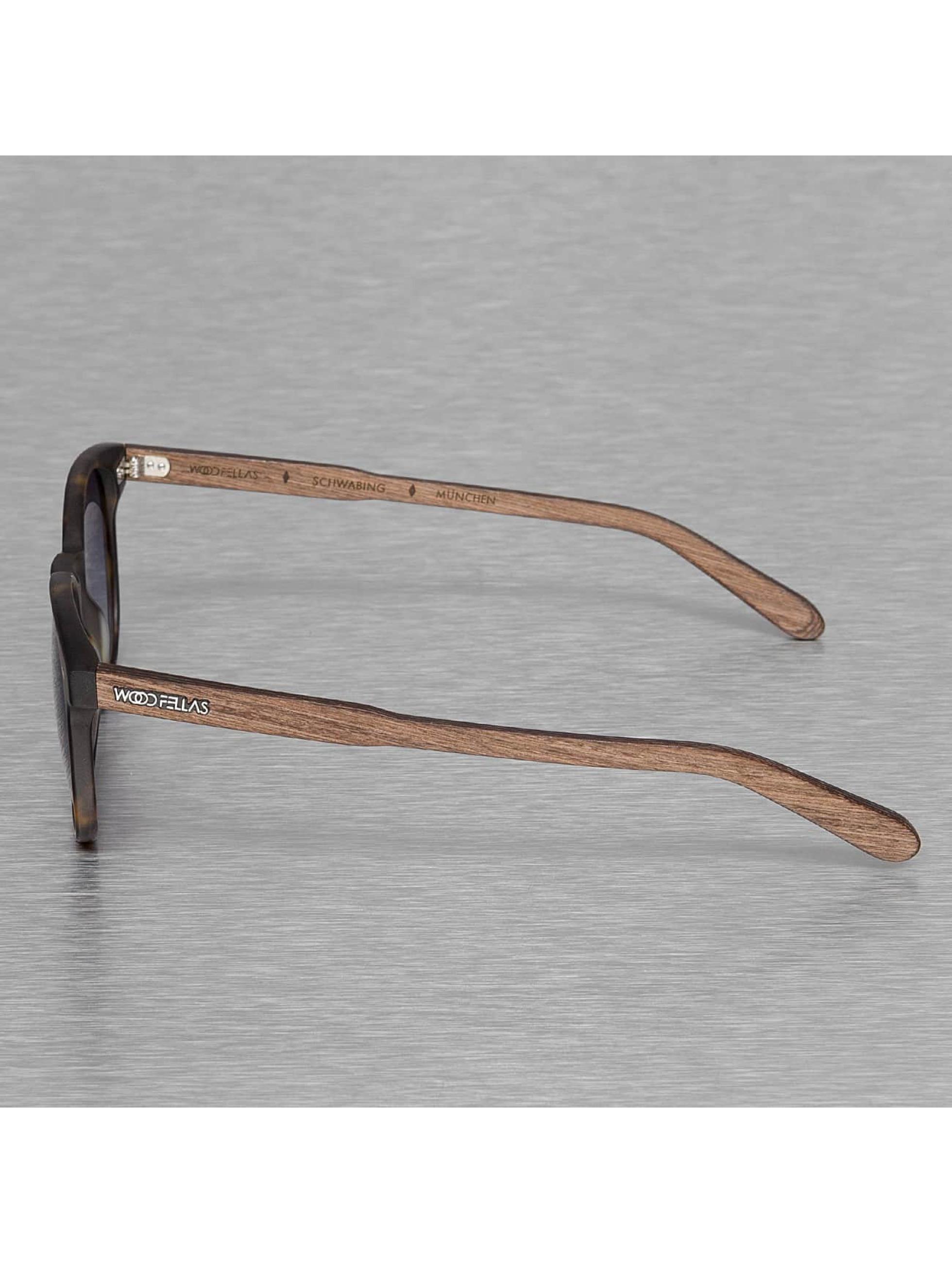 Wood Fellas Eyewear Очки Eyewear Schwabing Polarized Mirror коричневый