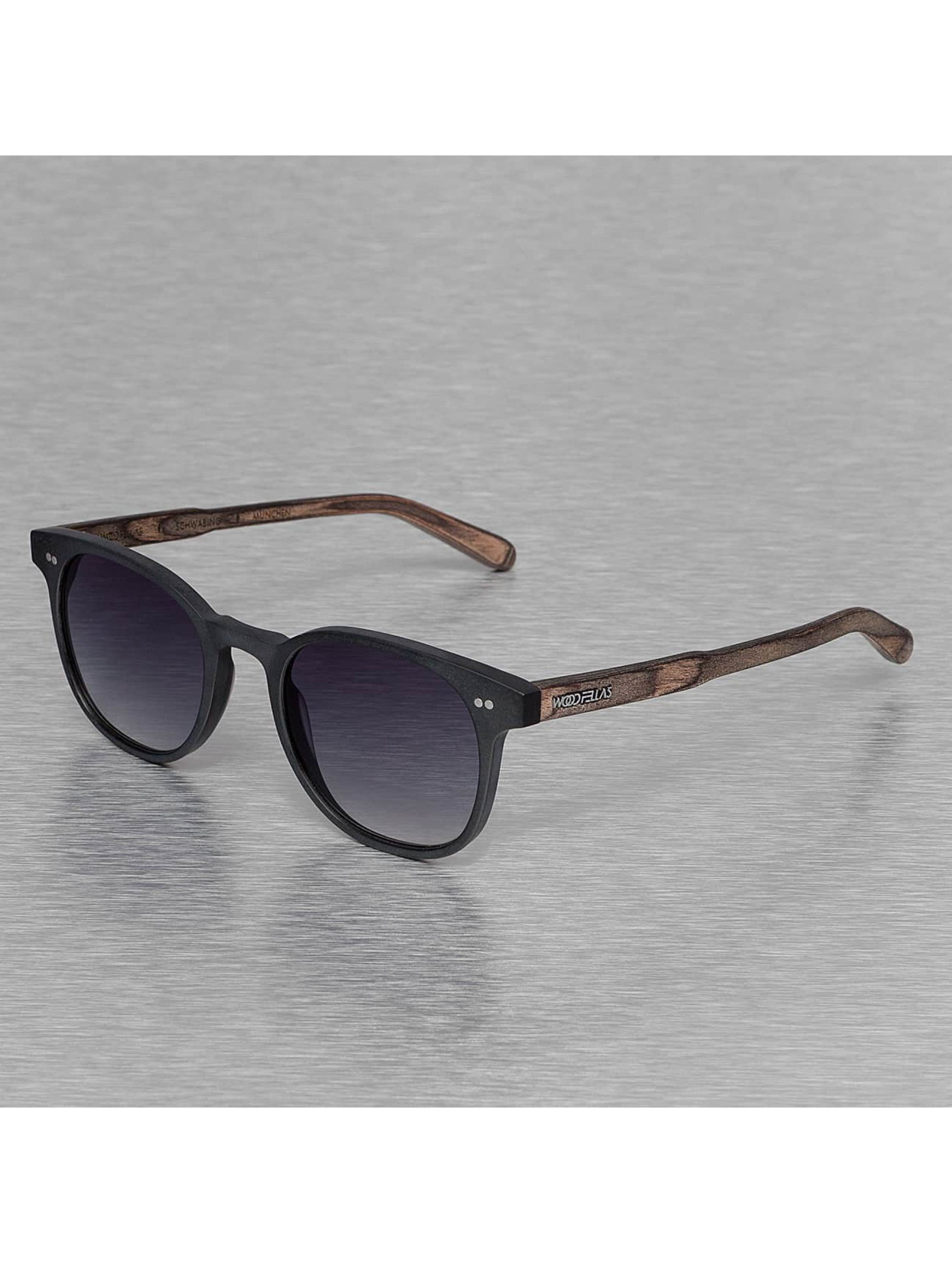 Wood Fellas Eyewear Очки Eyewear Schwabing Polarized Mirror черный