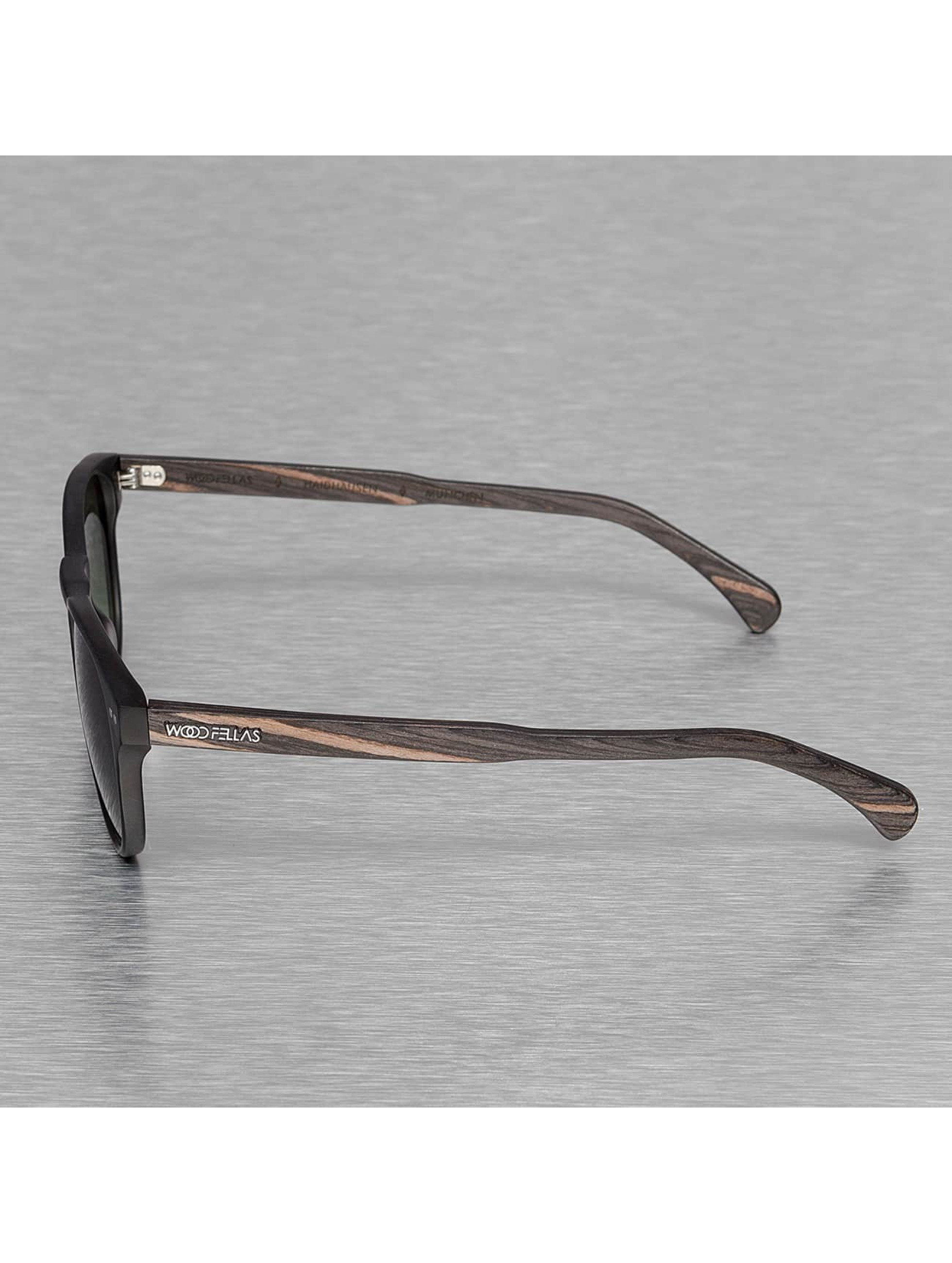 Wood Fellas Eyewear Очки Eyewear Haidhausen Polarized Mirror черный