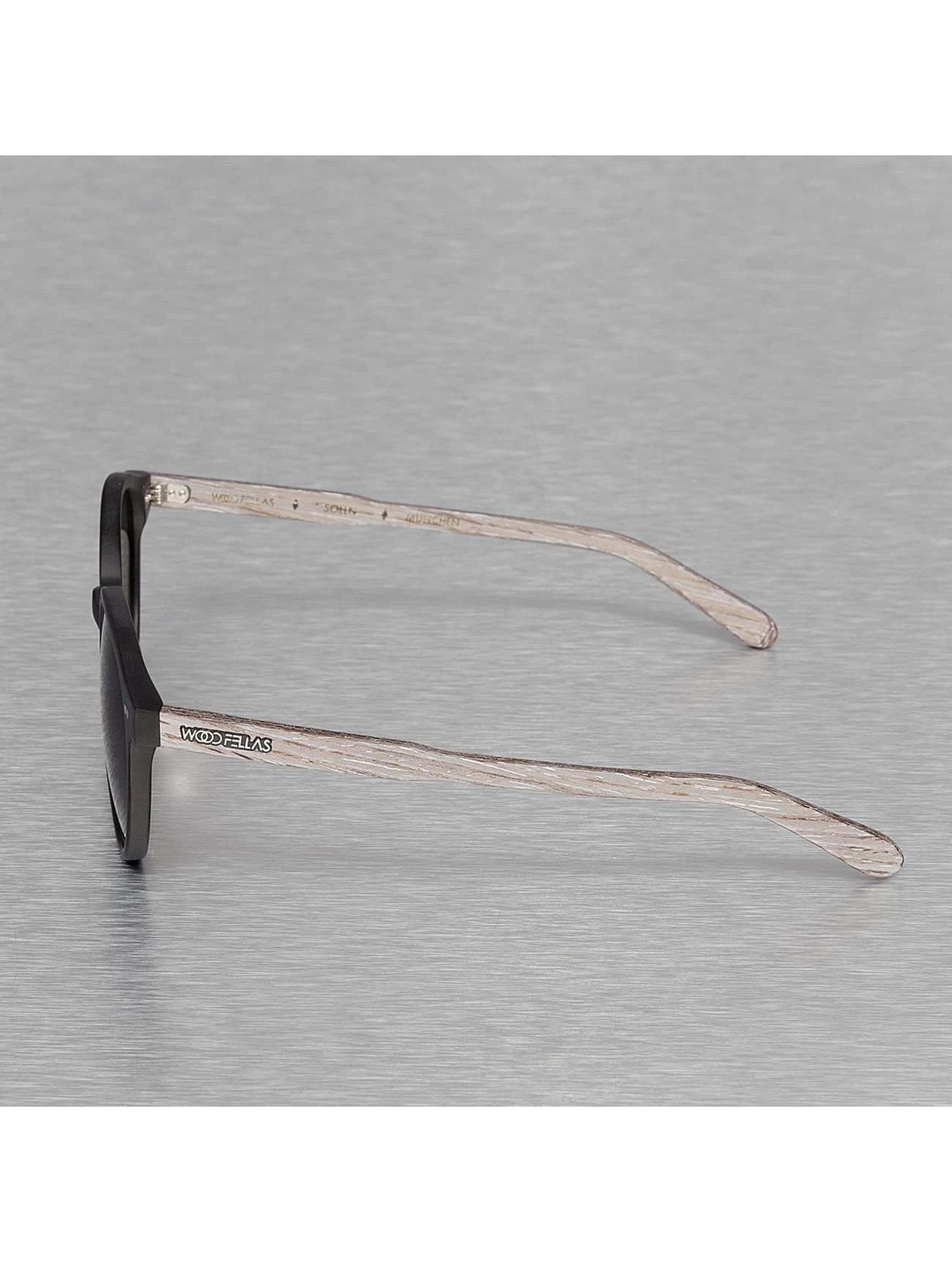 Wood Fellas Eyewear Aurinkolasit Eyewear Solln Polarized Mirror musta