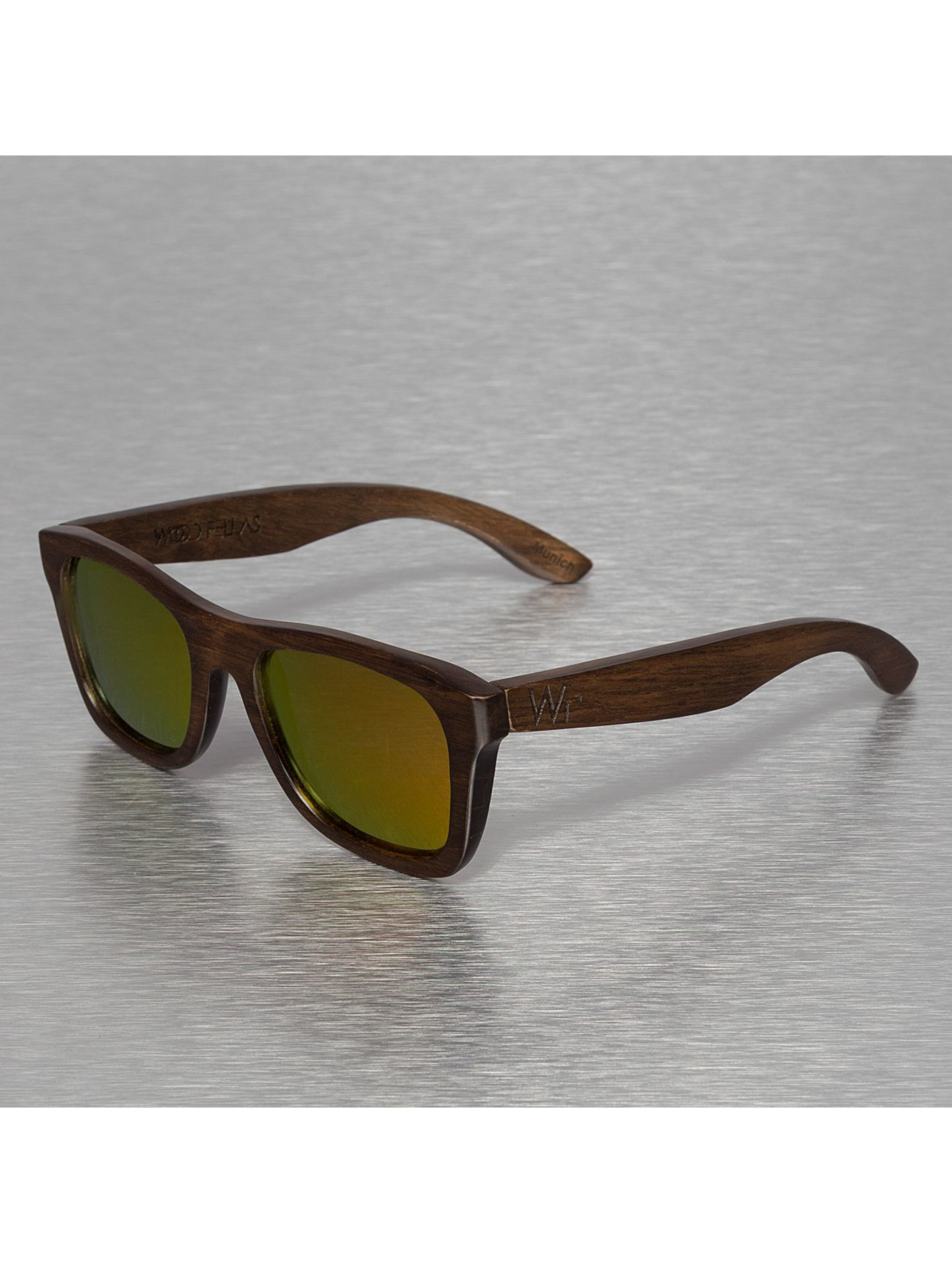 Wood Fellas Eyewear Aurinkolasit Jalo Mirror ruskea