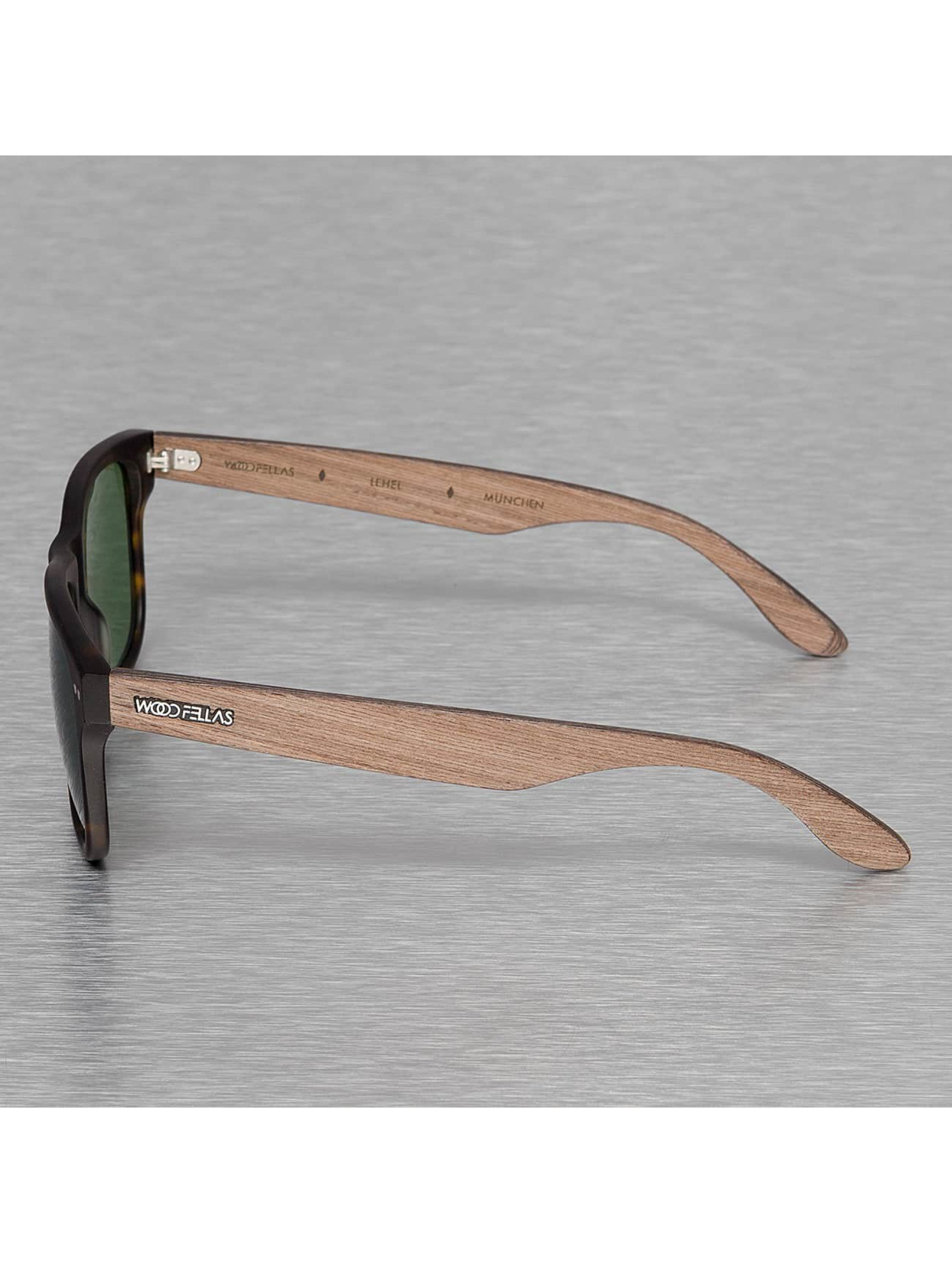 Wood Fellas Eyewear Aurinkolasit Eyewear Lehel Polarized Mirror ruskea