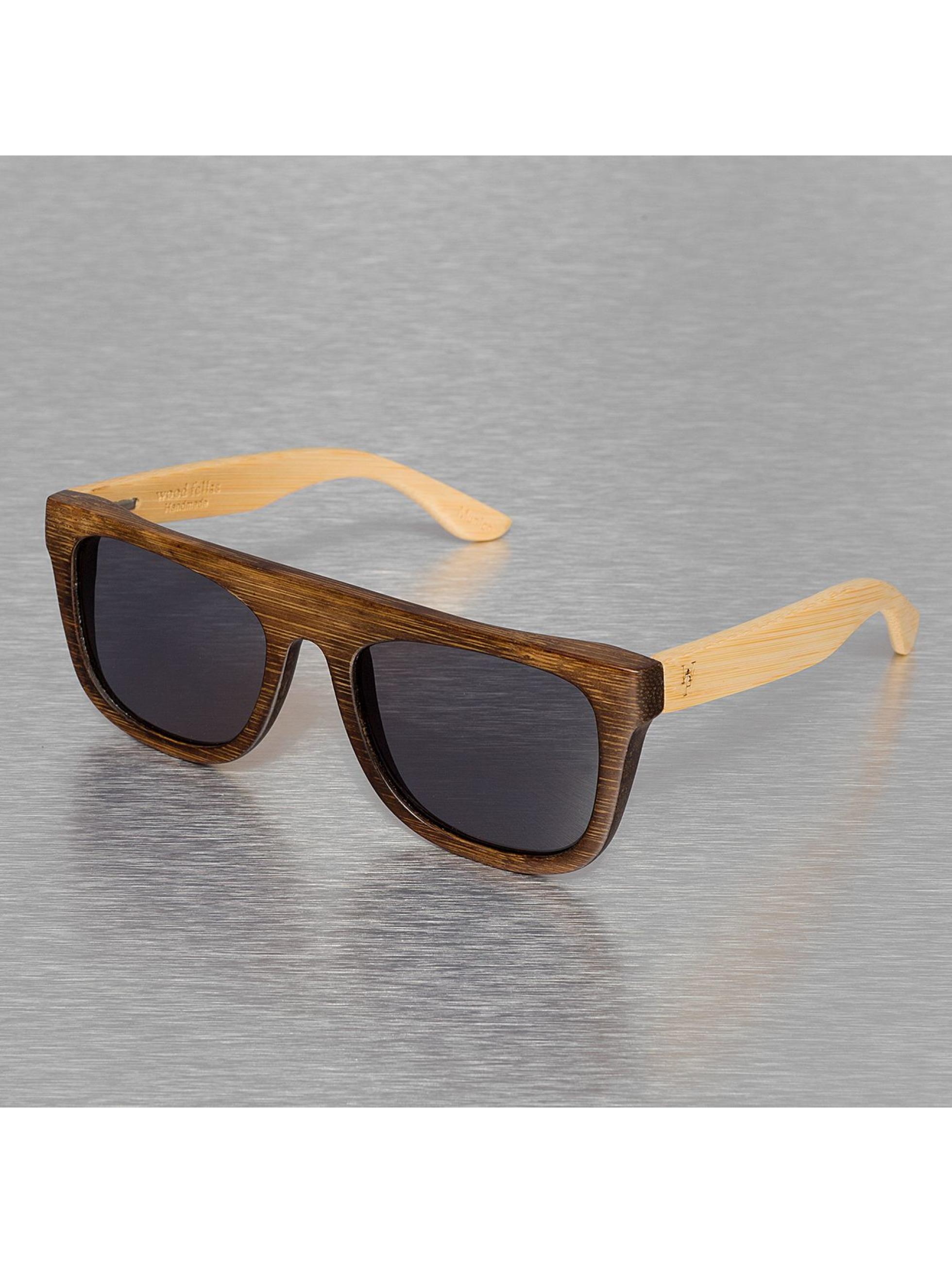 Wood Fellas Eyewear Lunettes de soleil Wood Fellas Mino brun