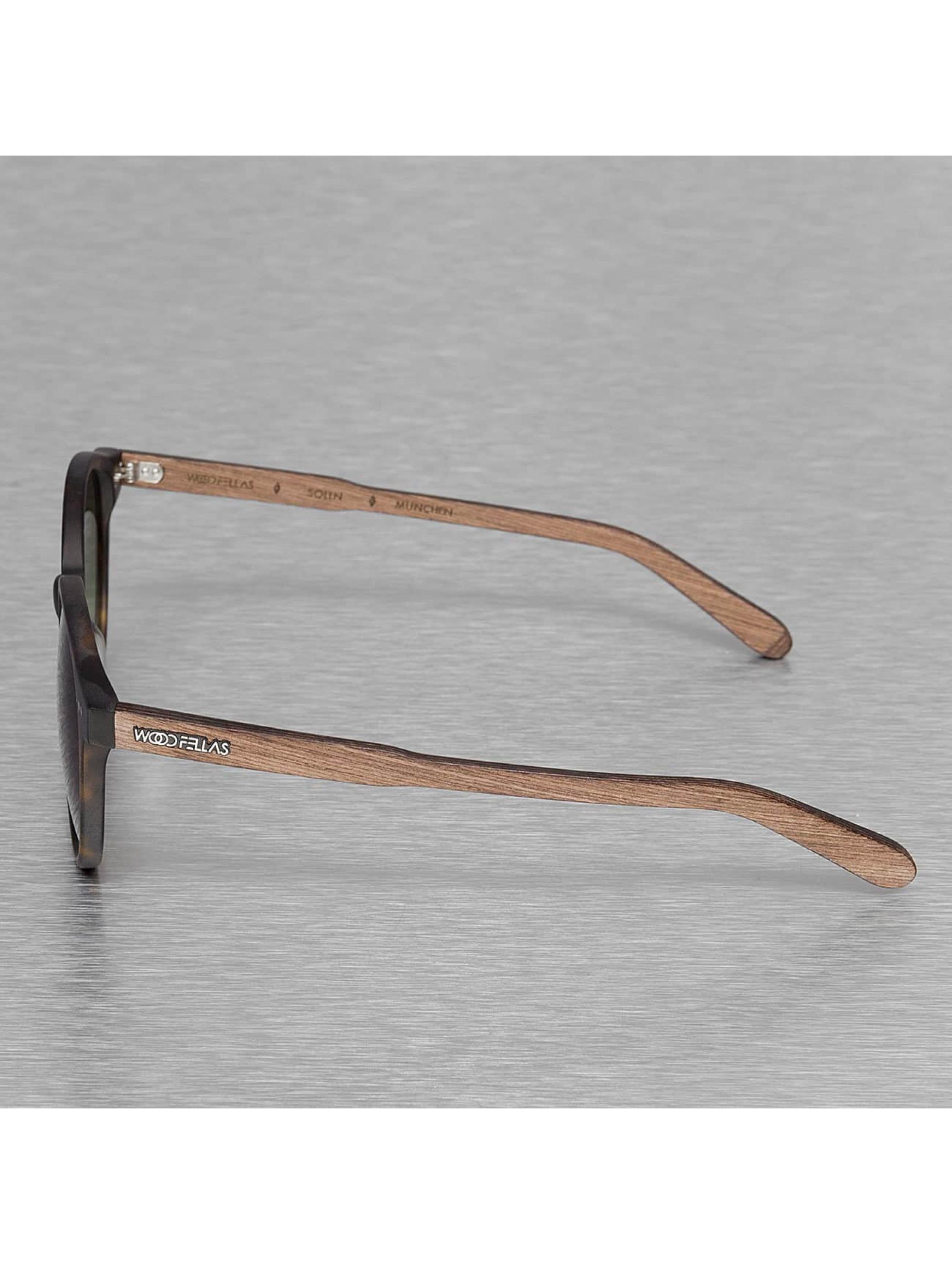 Wood Fellas Eyewear Okuliare Eyewear Solln Polarized Mirror hnedá