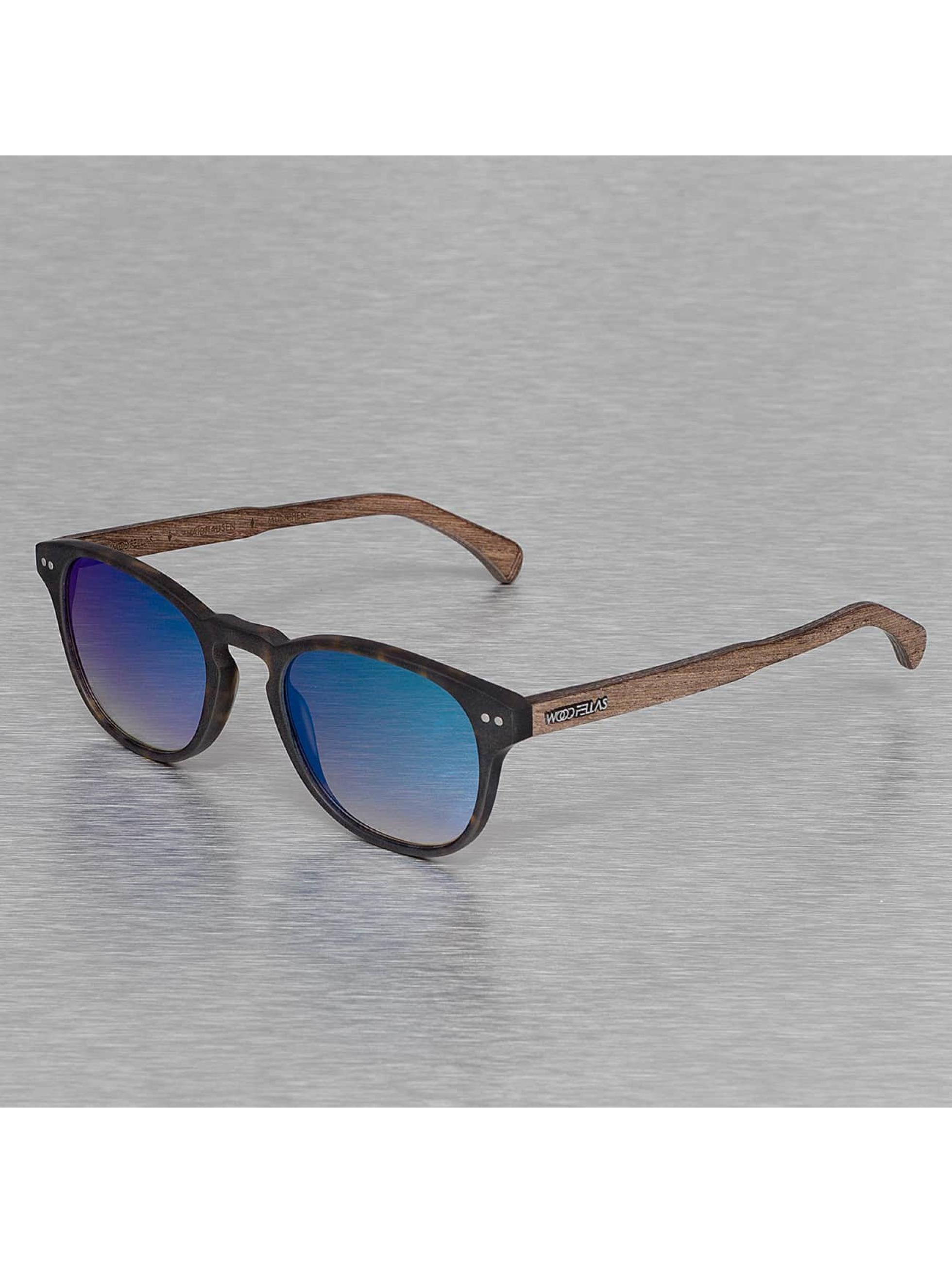 Wood Fellas Eyewear Okuliare Eyewear Haidhausen Polarized Mirror hnedá