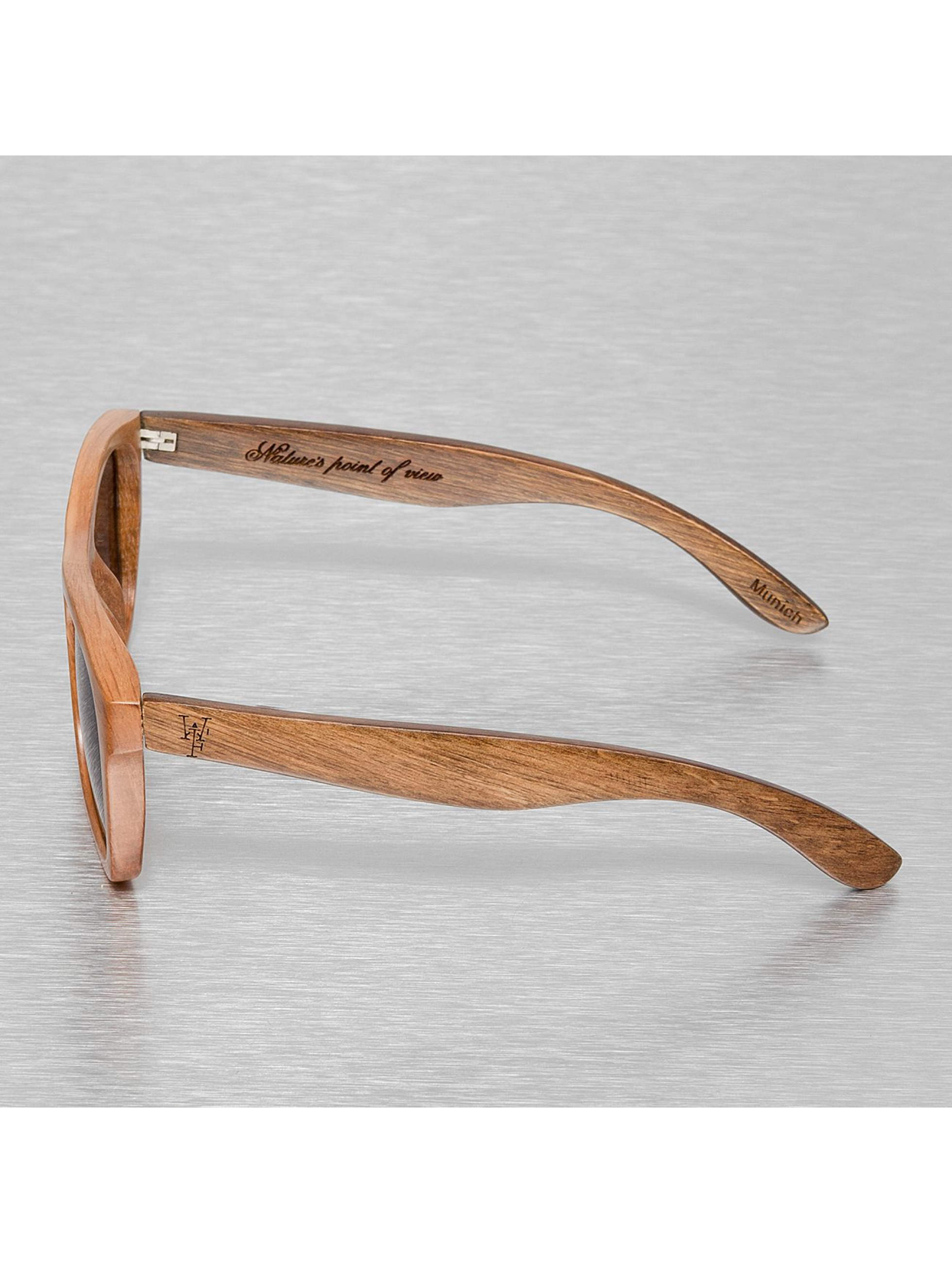 Wood Fellas Eyewear Sonnenbrille Wood Fellas Jalo braun