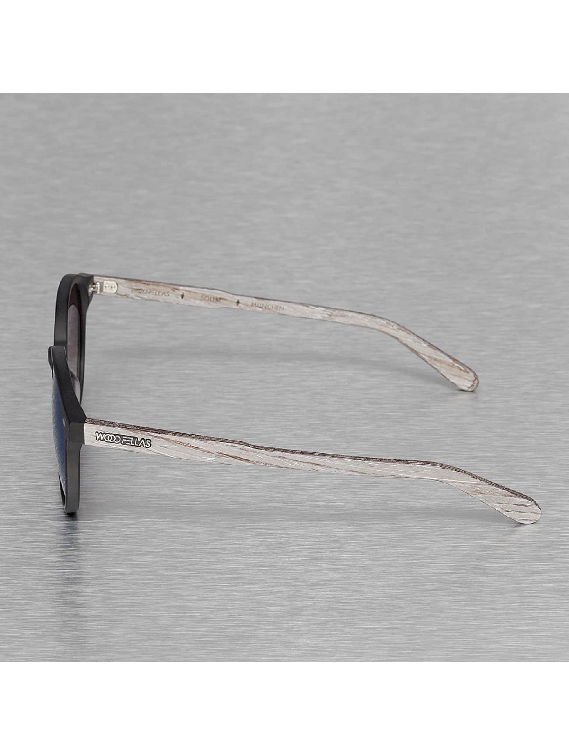 Wood Fellas Eyewear Sunglasses Eyewear Solln Polarized Mirror black